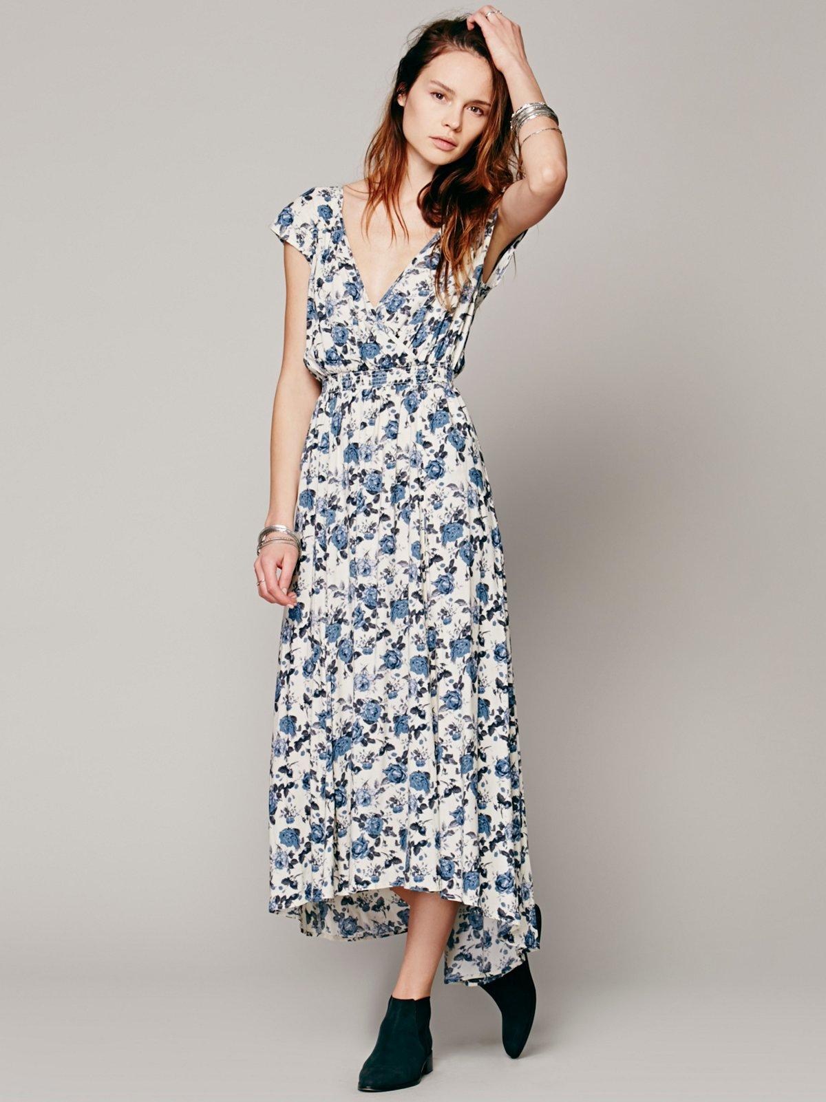 Shadowplay Maxi Dress
