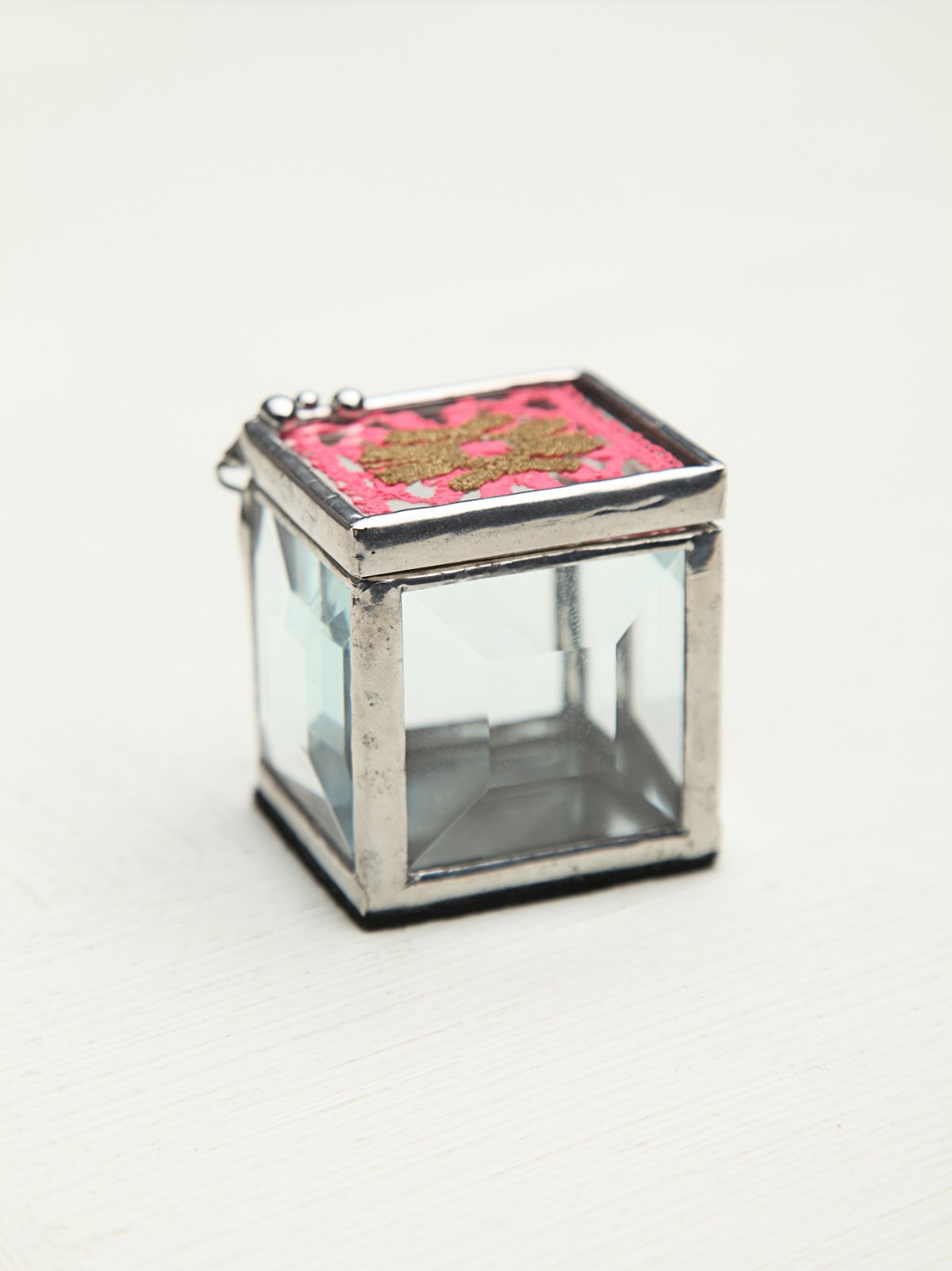 Lace Mirror Box