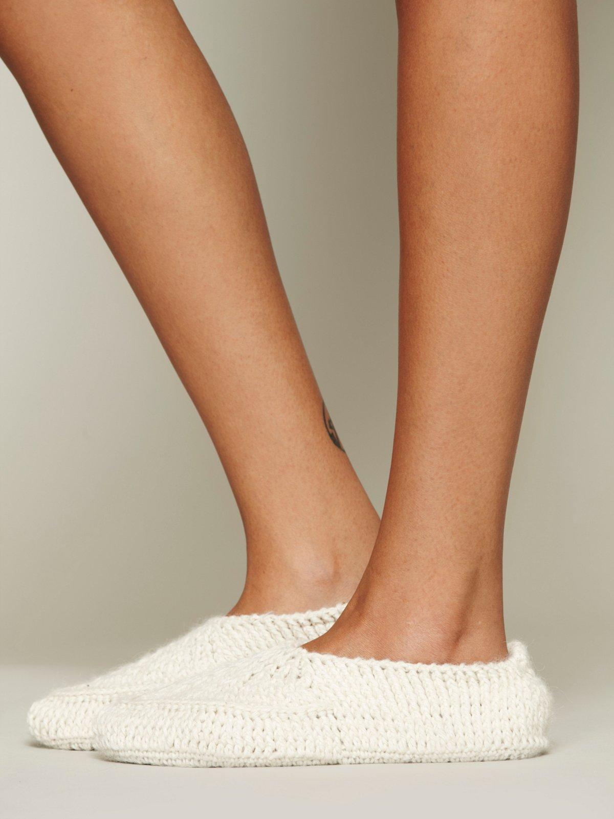 Shoshone Slipper Sock