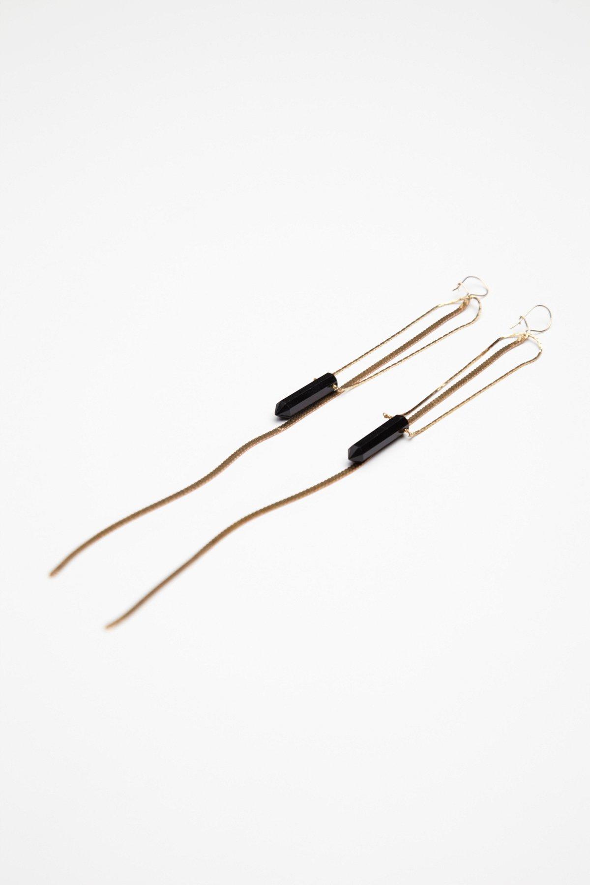 Quartz Chain Fringe Ear