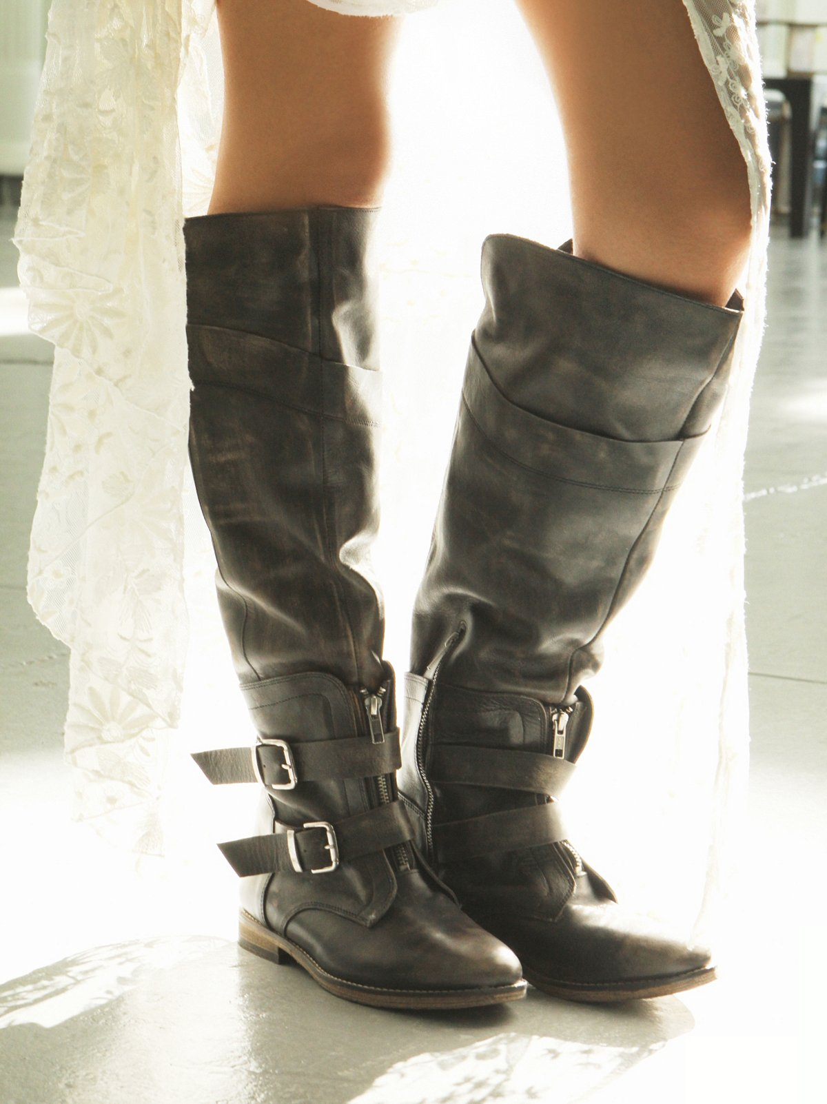 Trigger Tall Boot