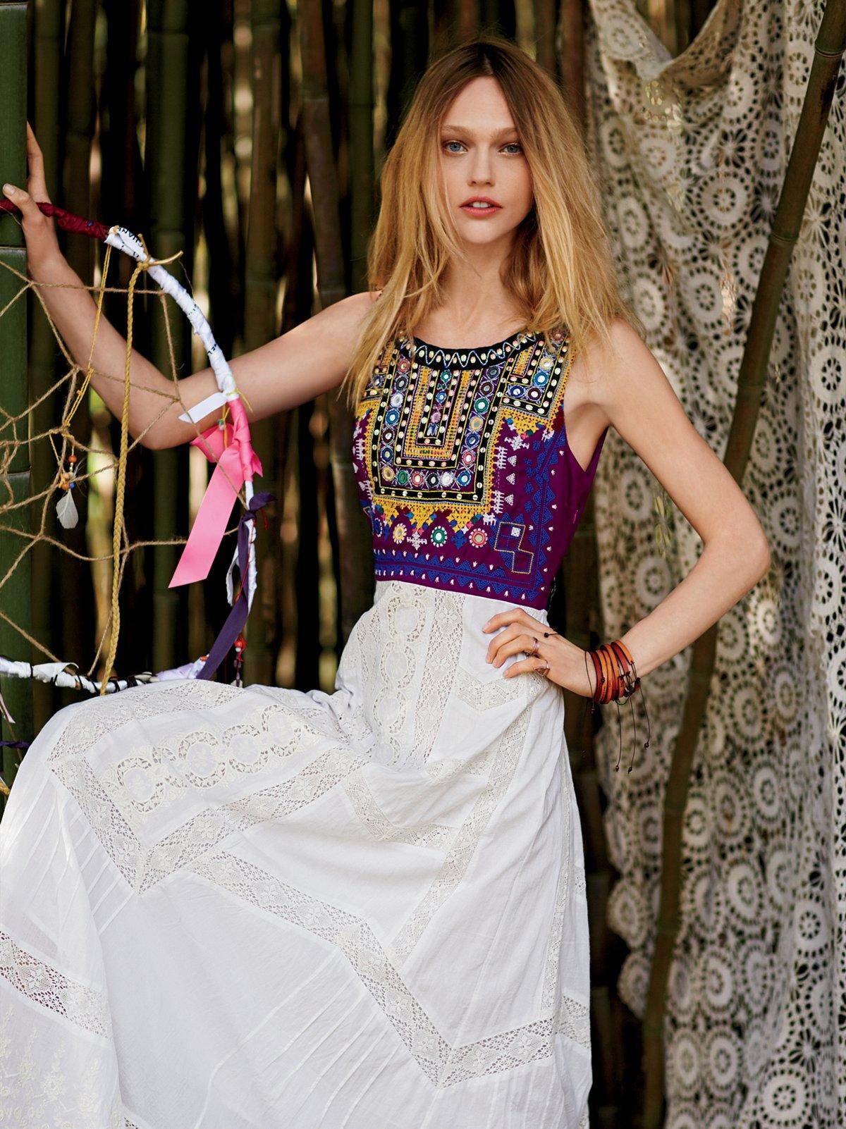 Ethnic Romance Dress