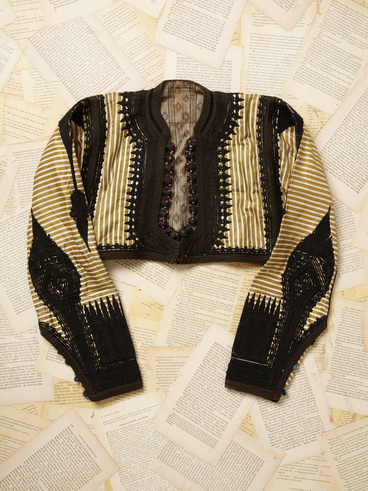 Vintage Handmade Crop Jacket
