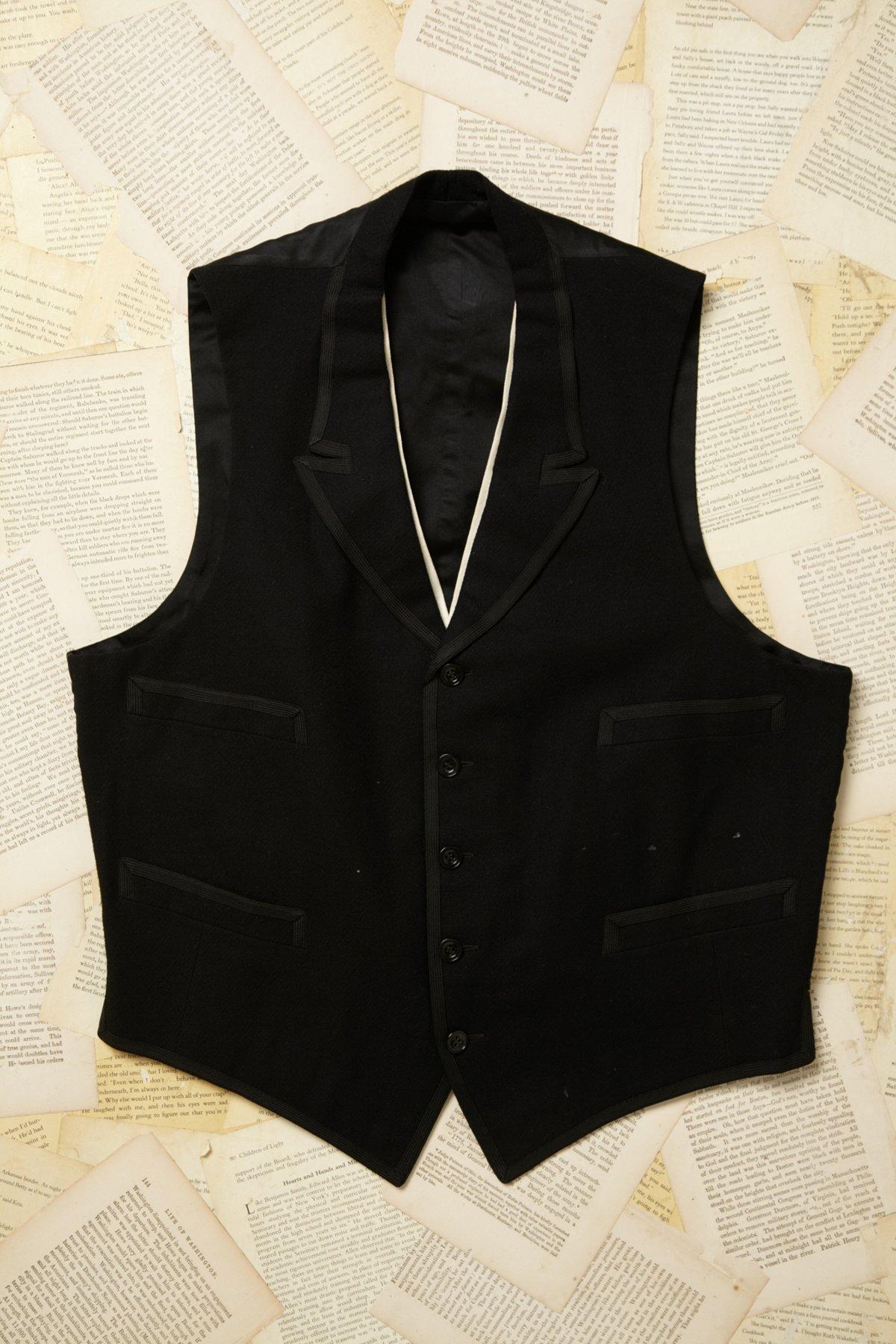 Vintage 1920s Wool Vest