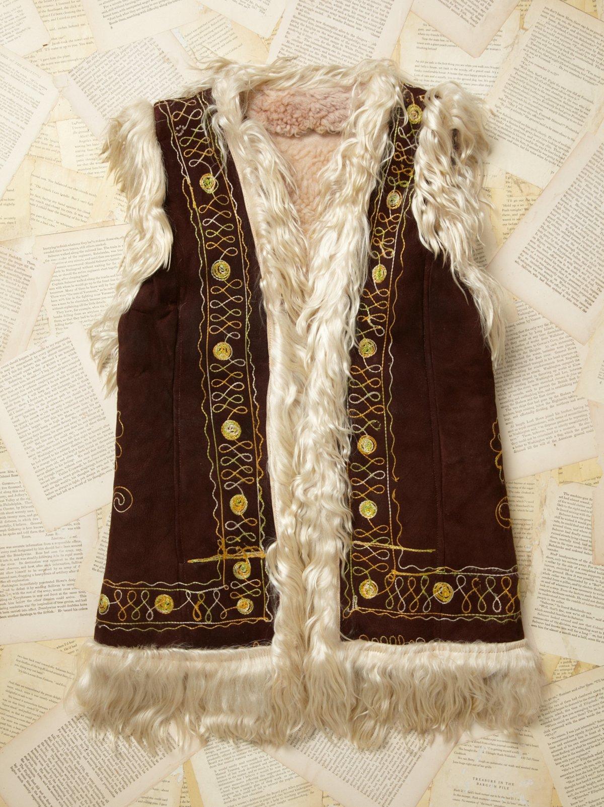 Vintage Mongolian Vest