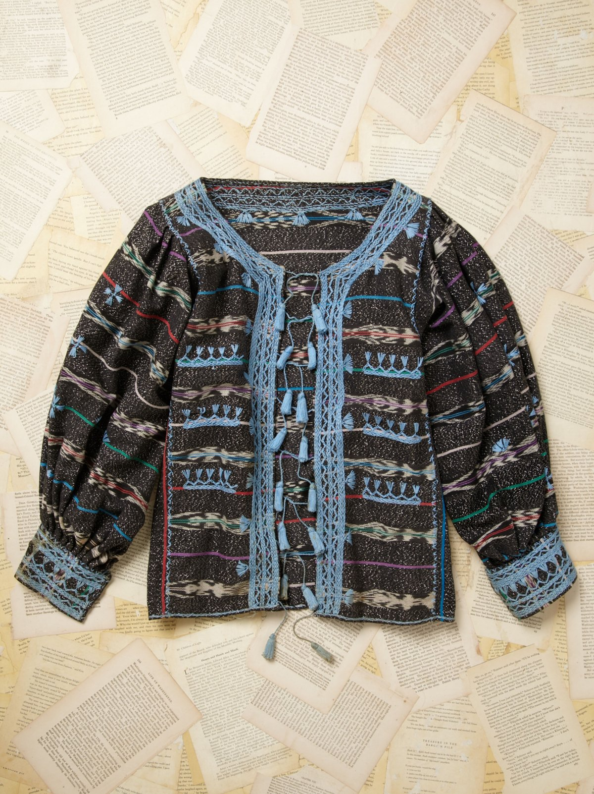 Vintage Embroidered Jacket