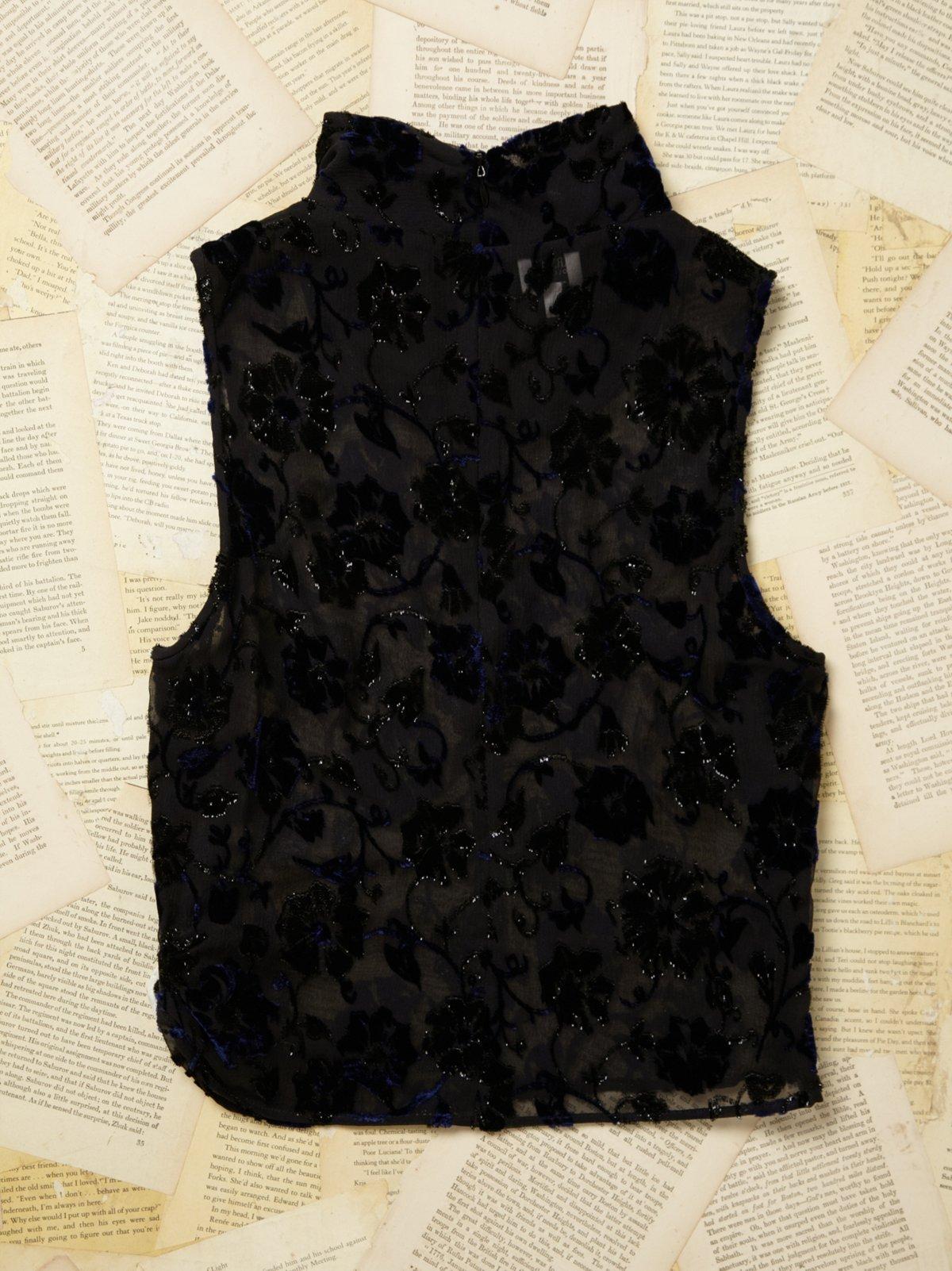 Vintage Armani Lace Top