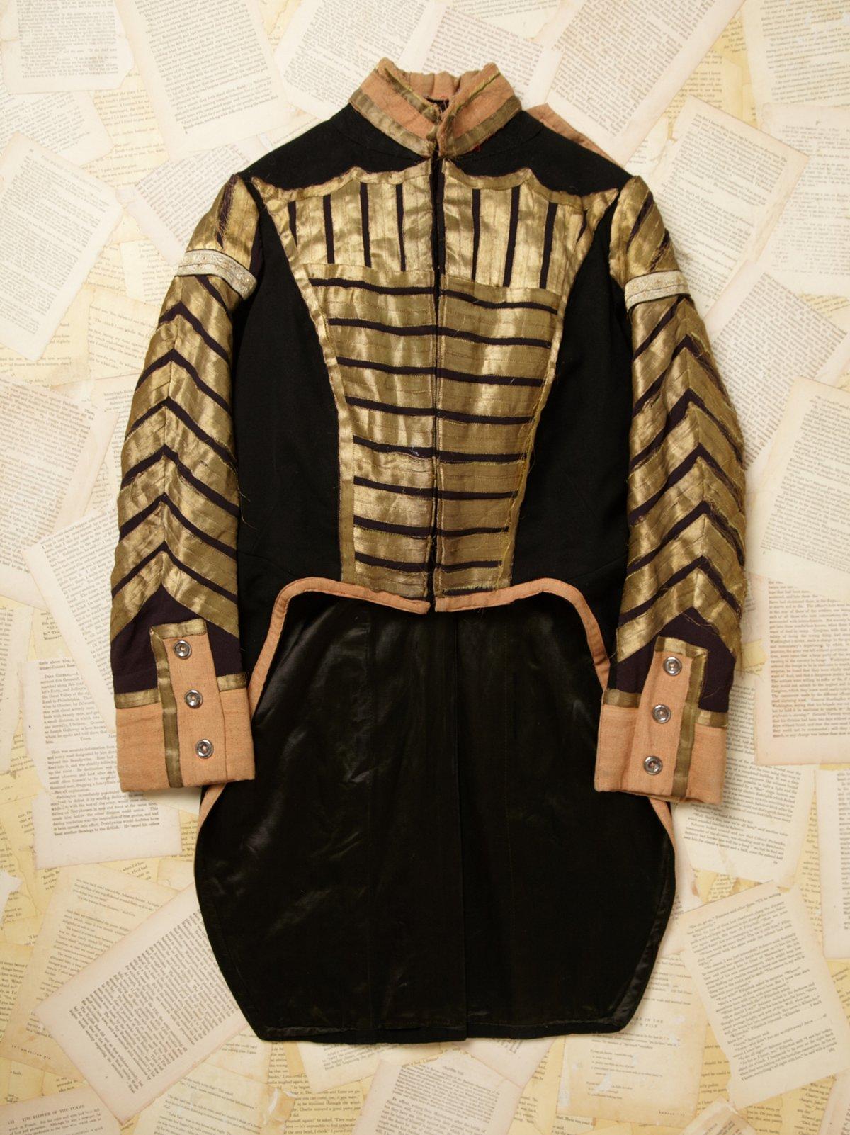 Vintage Embellished Cutaway Jacket