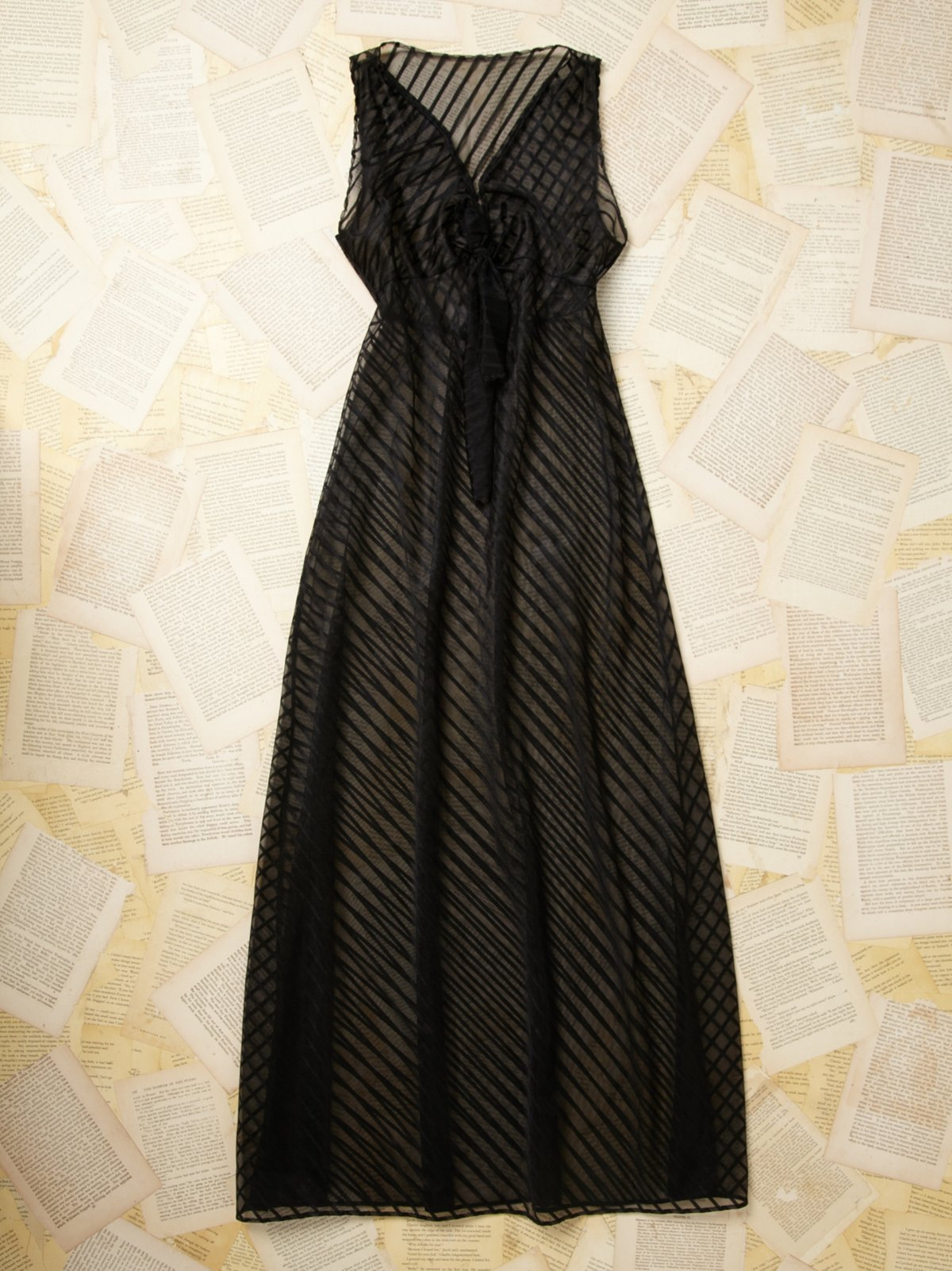 Vintage Sheer Night Dress