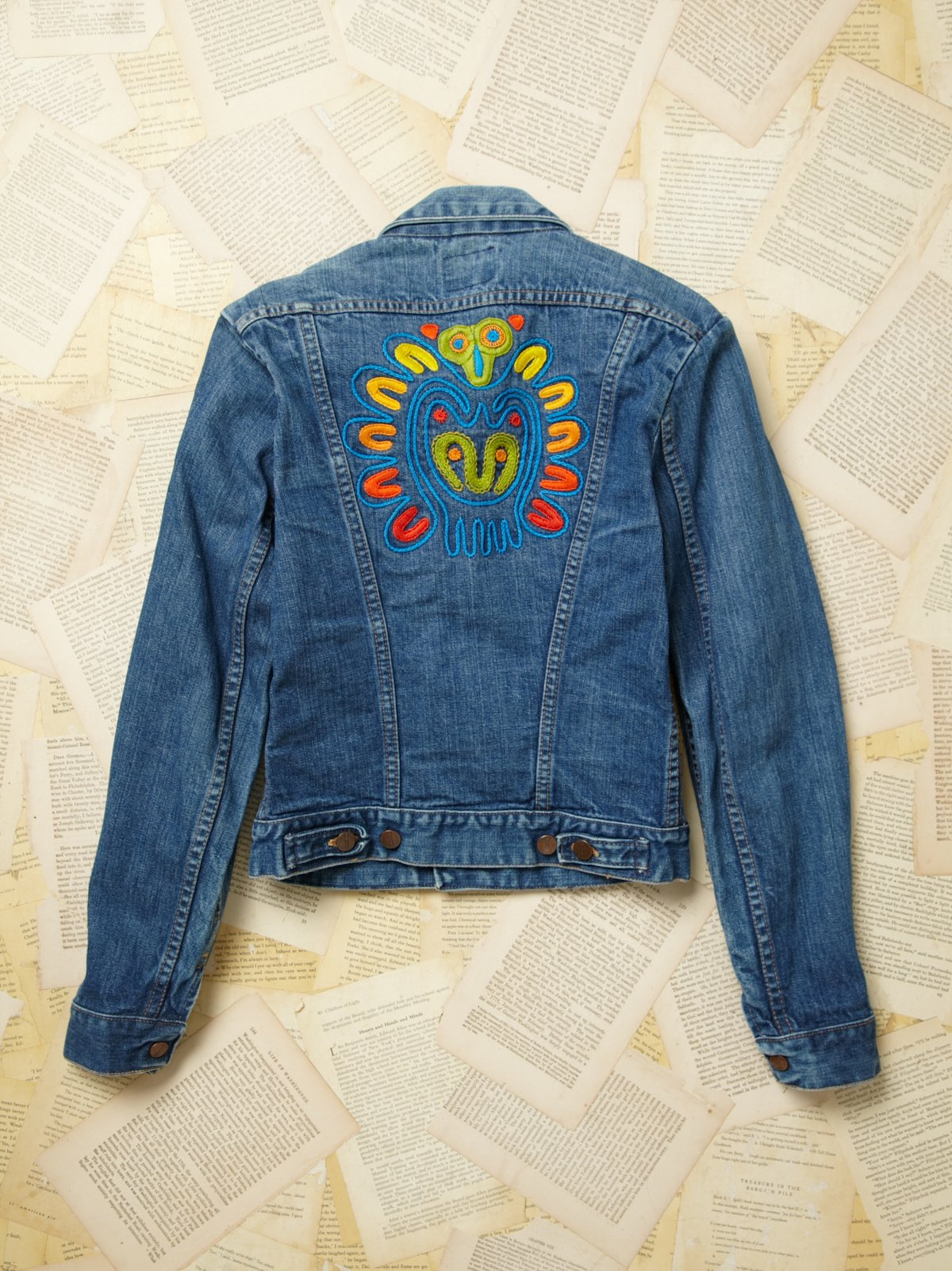 Vintage Maverick 4 Pocket Denim Jacket