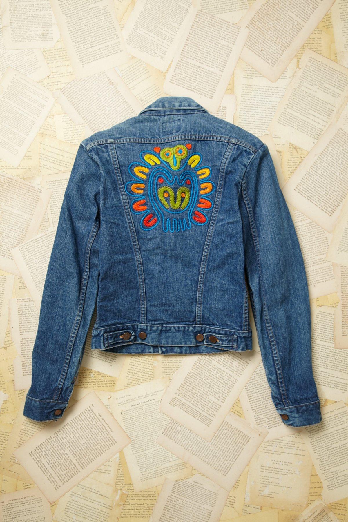 Vintage Maverick 4 Pocket Denim Jacket