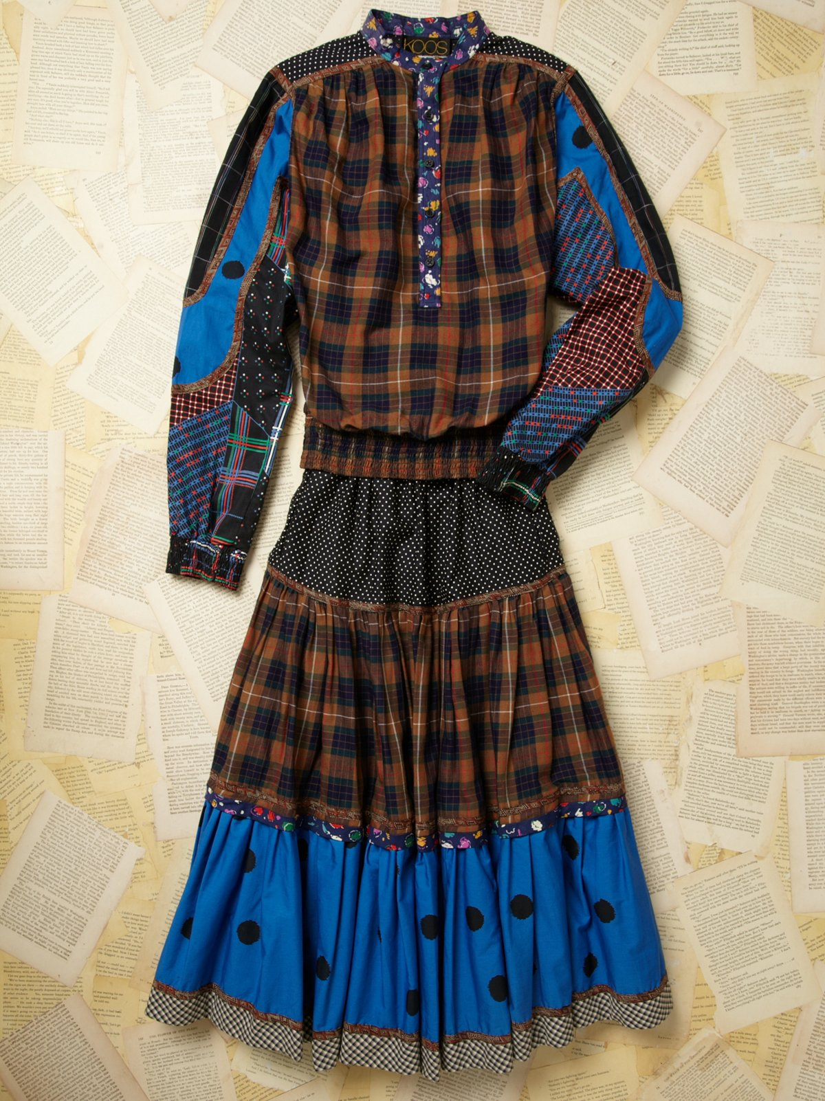 Vintage Koos Van Den Akker Dress
