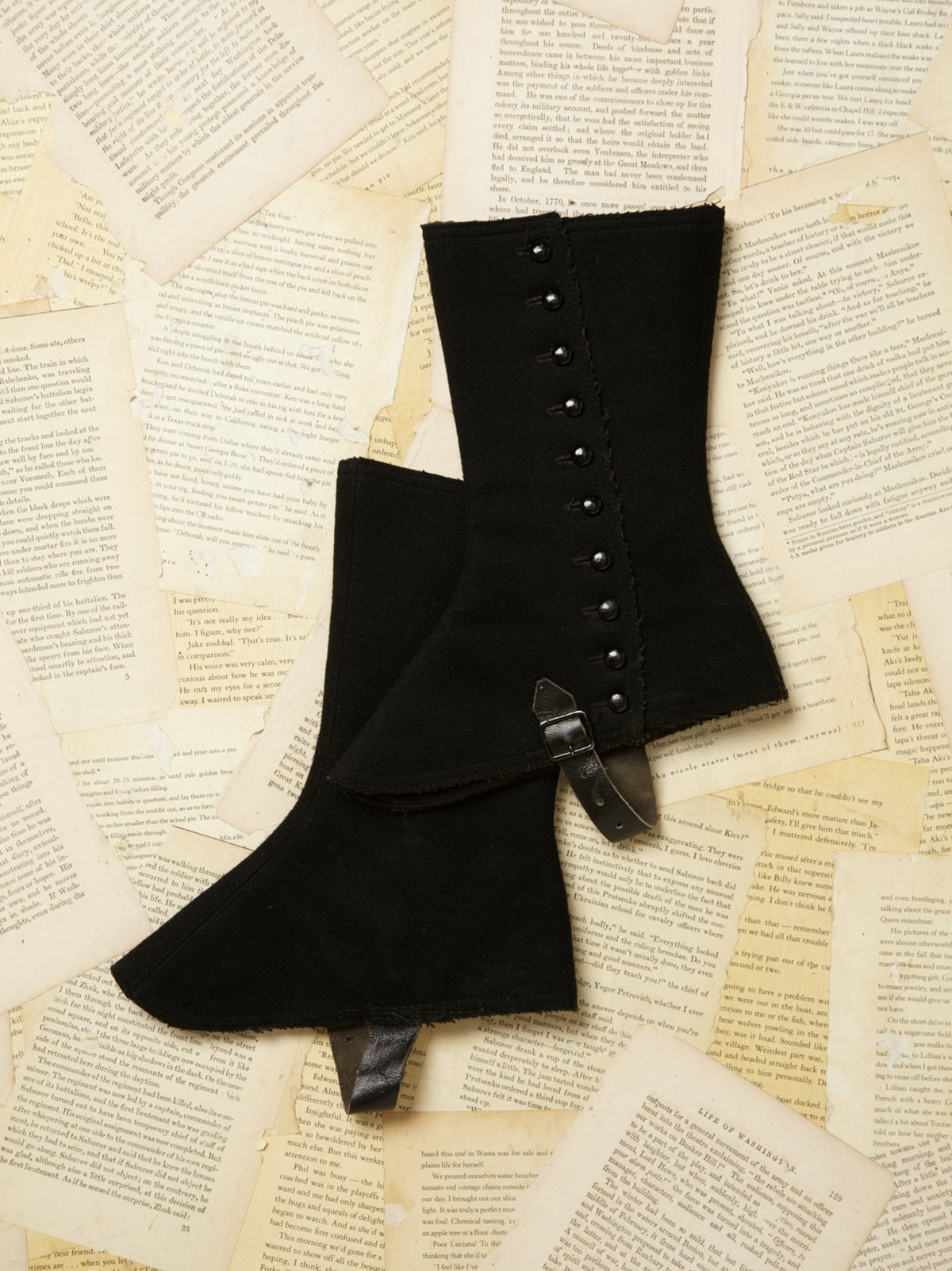 Vintage Victorian Boot Cover