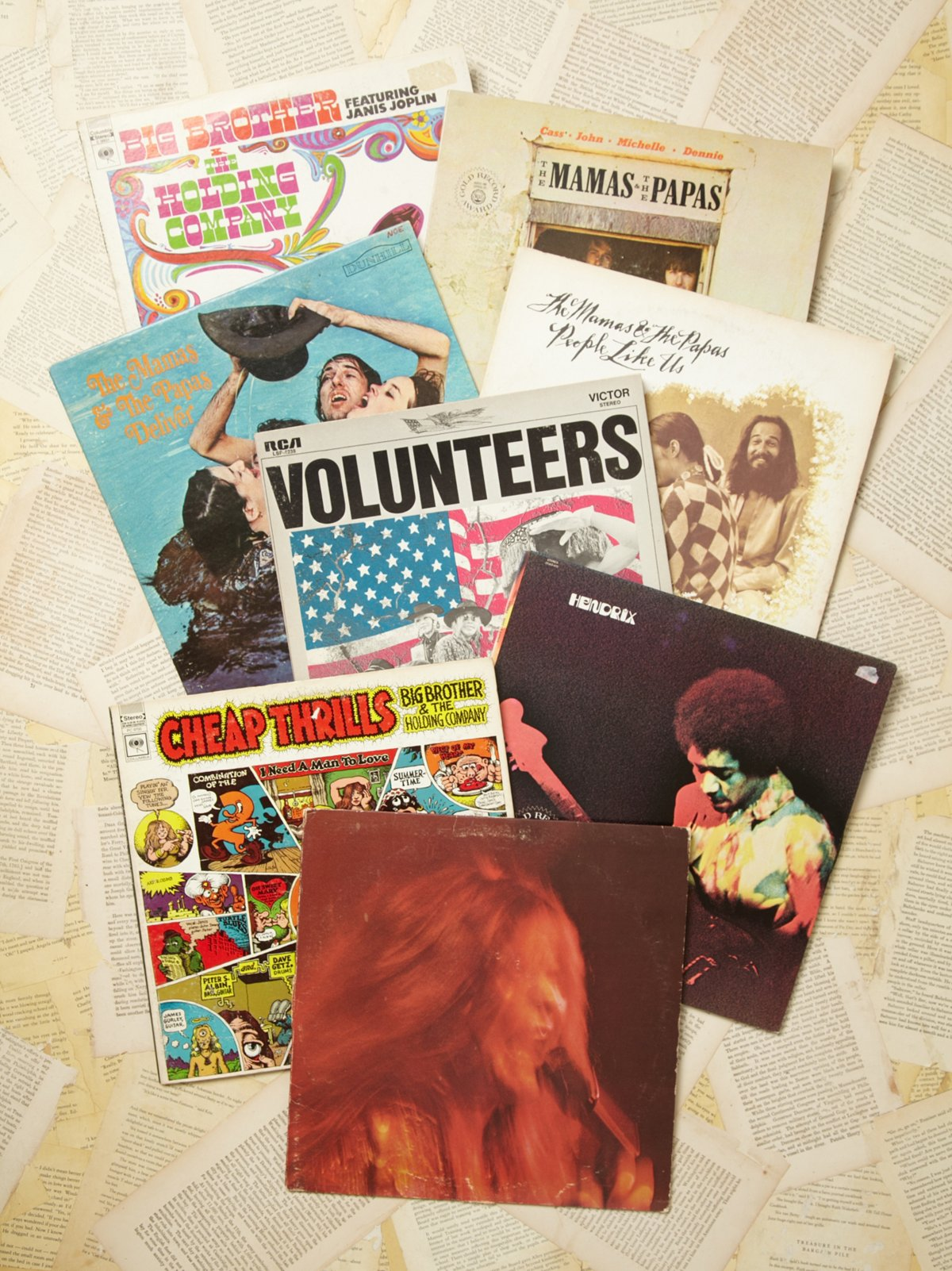 Vintage Collection of Records: Monterrey Pop Festival