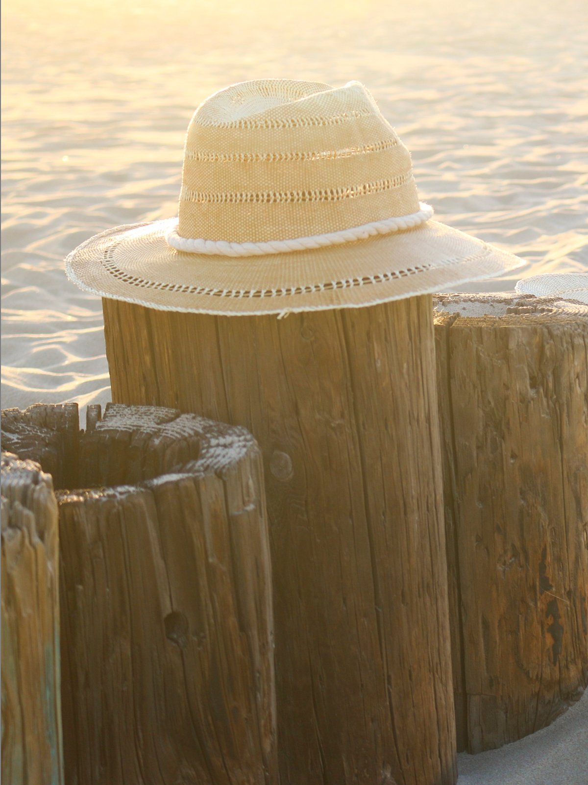 Ombre Straw Rancher Hat
