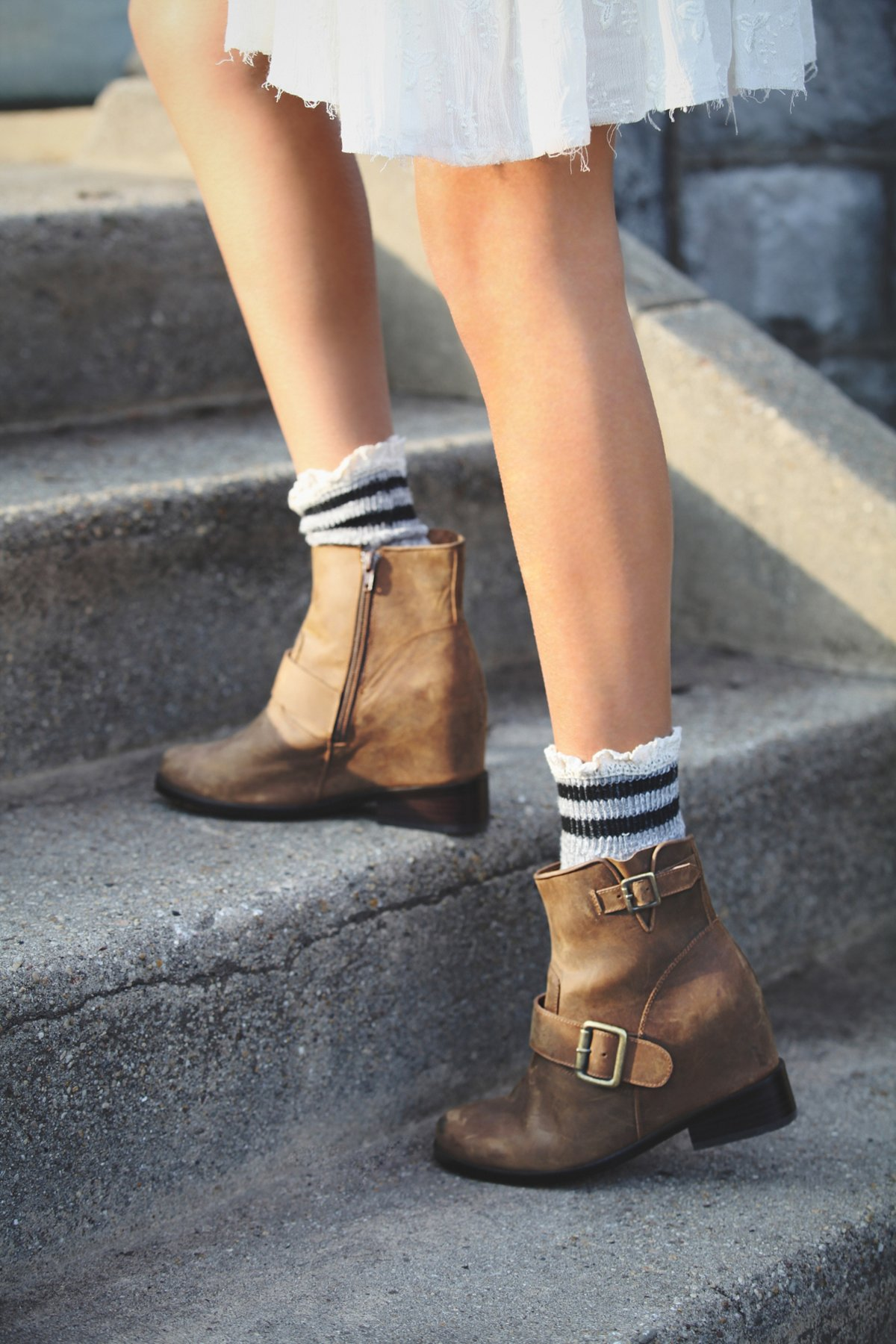 Stahl Wedge Boot