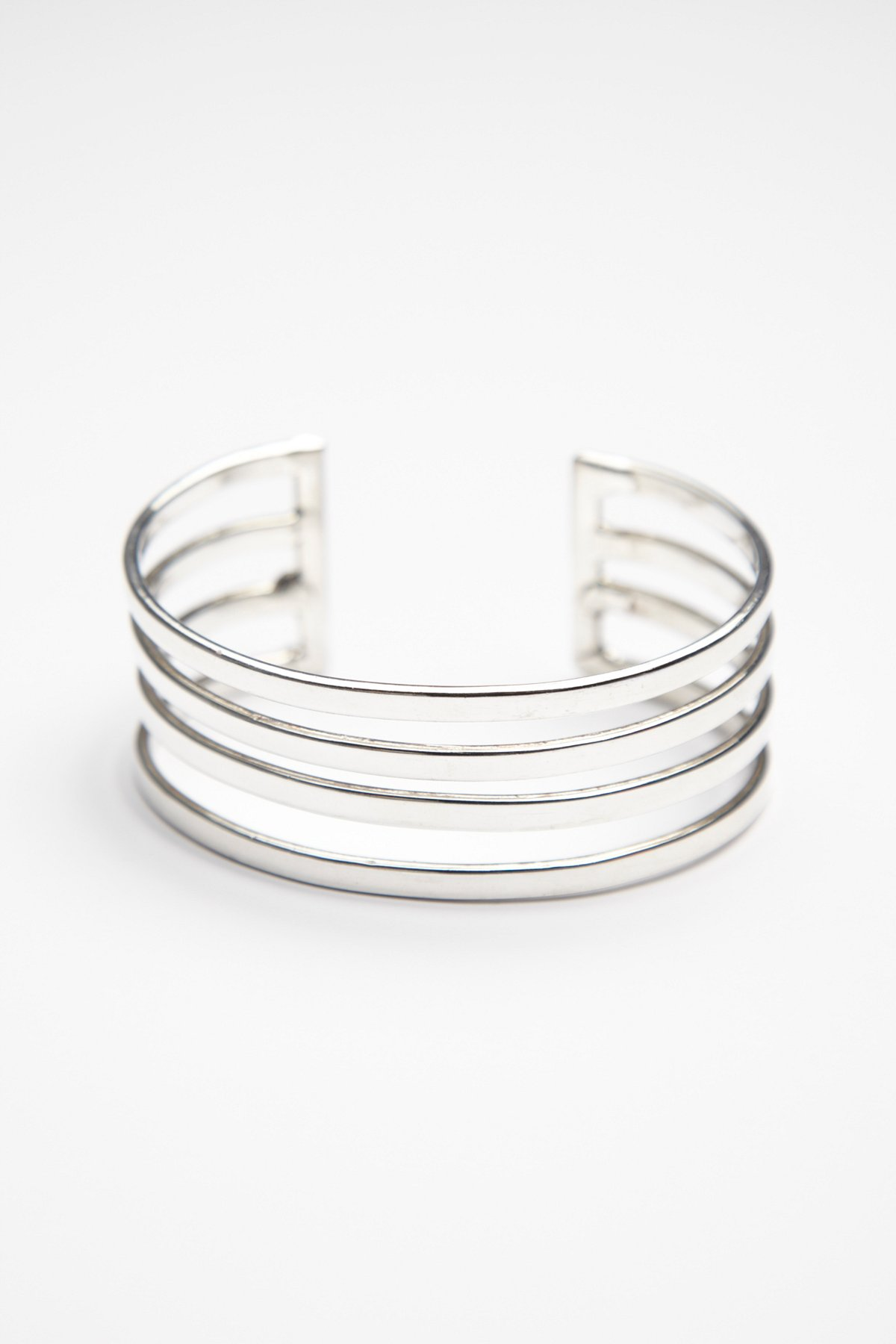 Multi Strand Caged Bracelet