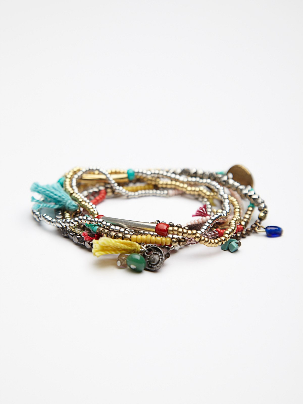 Stack 'Em Up Beaded Bracelet