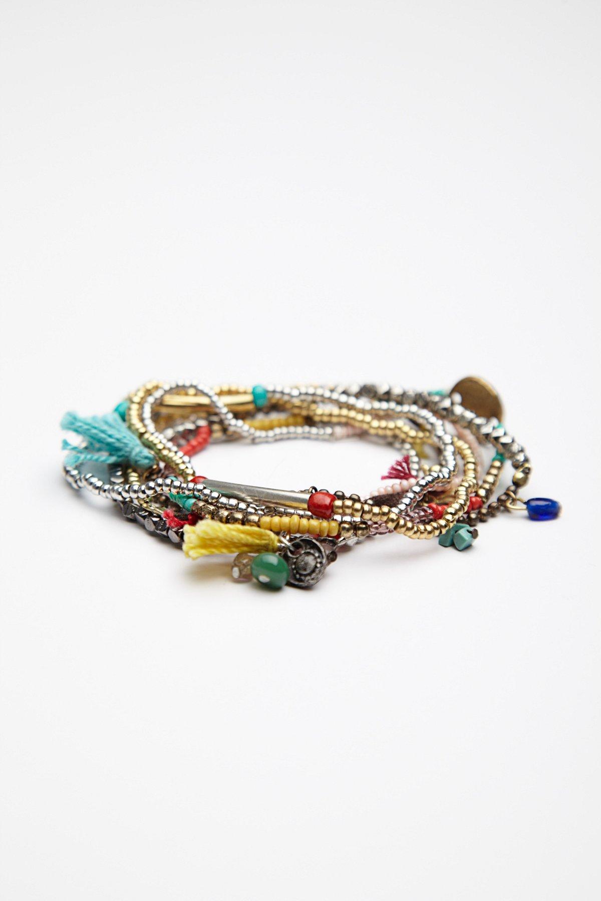 Stack 'Em Up Beaded Bracelet