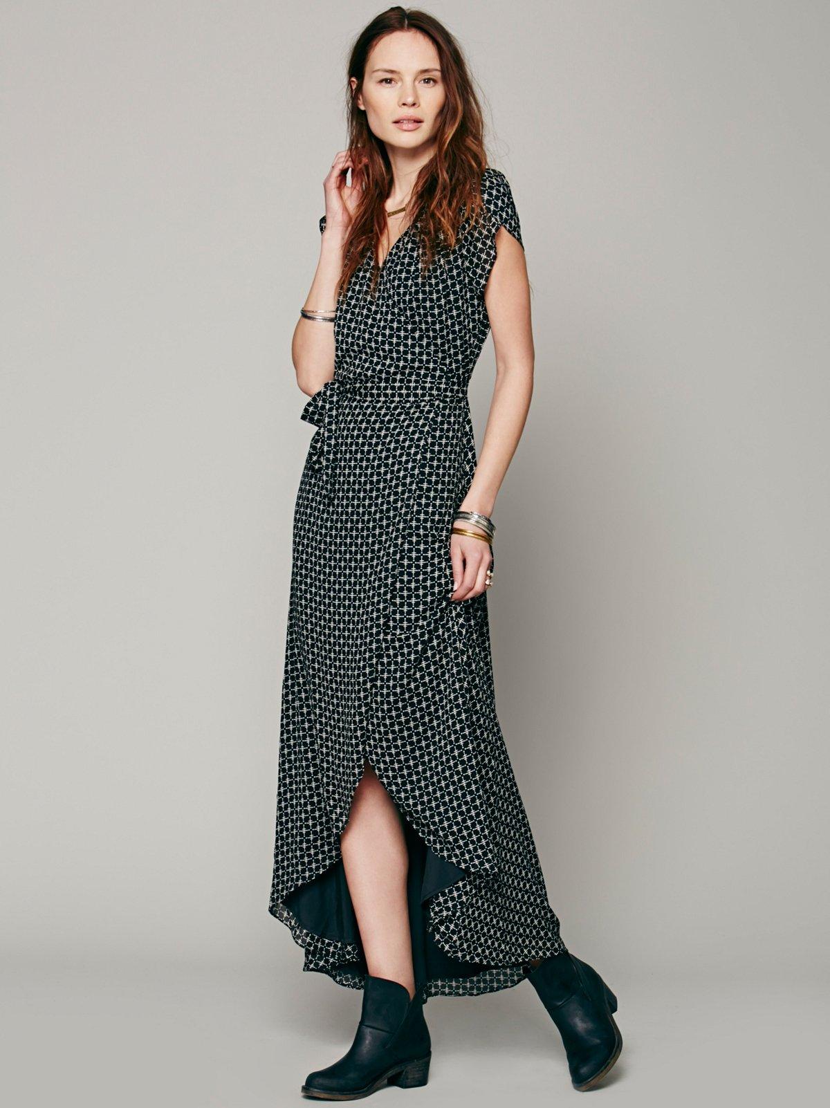 That's a Wrap Maxi Dress