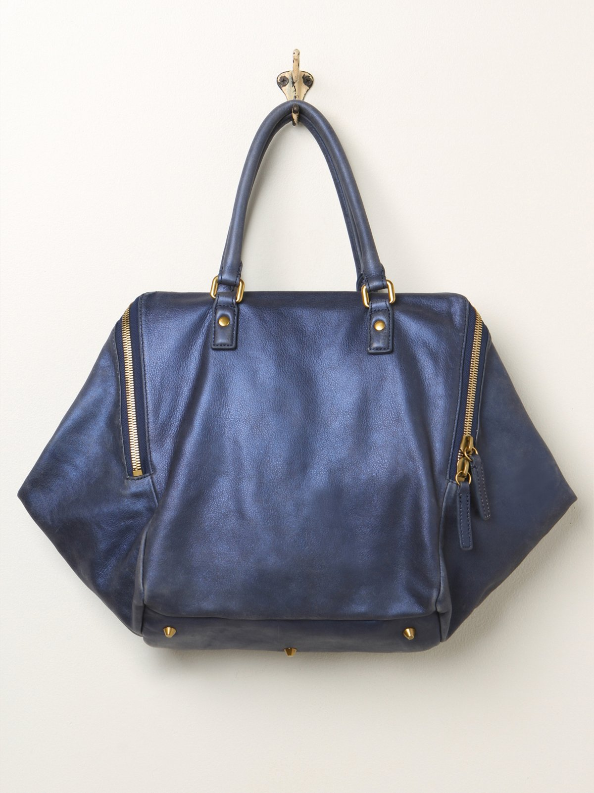 Kayla Leather Tote
