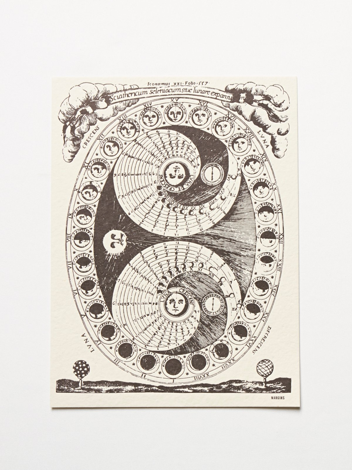 Perpetual Lunar Calendar