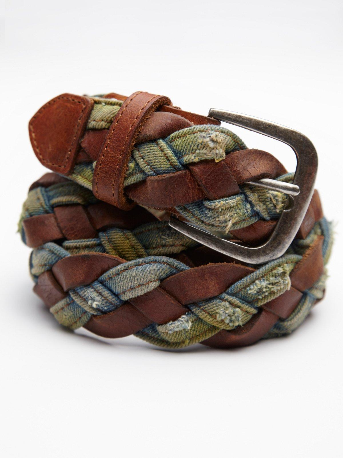 Washed Braided Belt