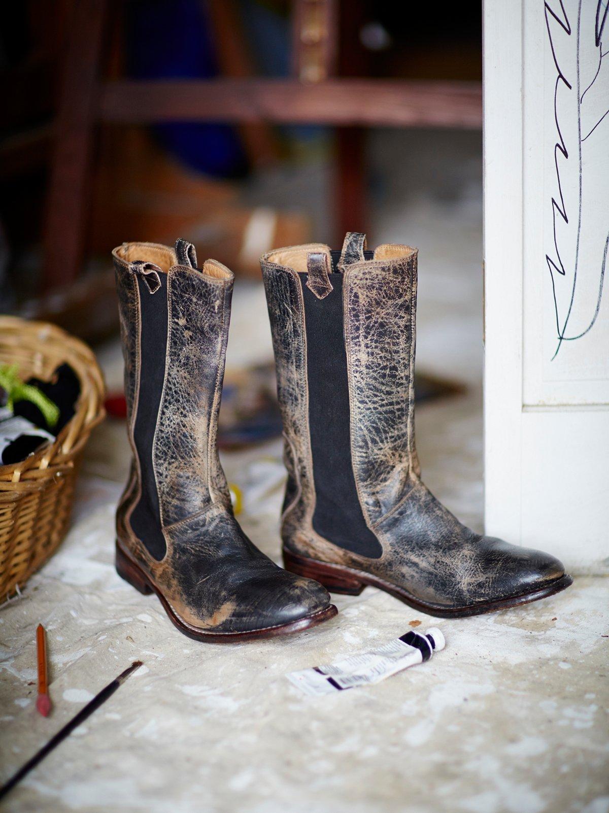 Gentry中筒靴