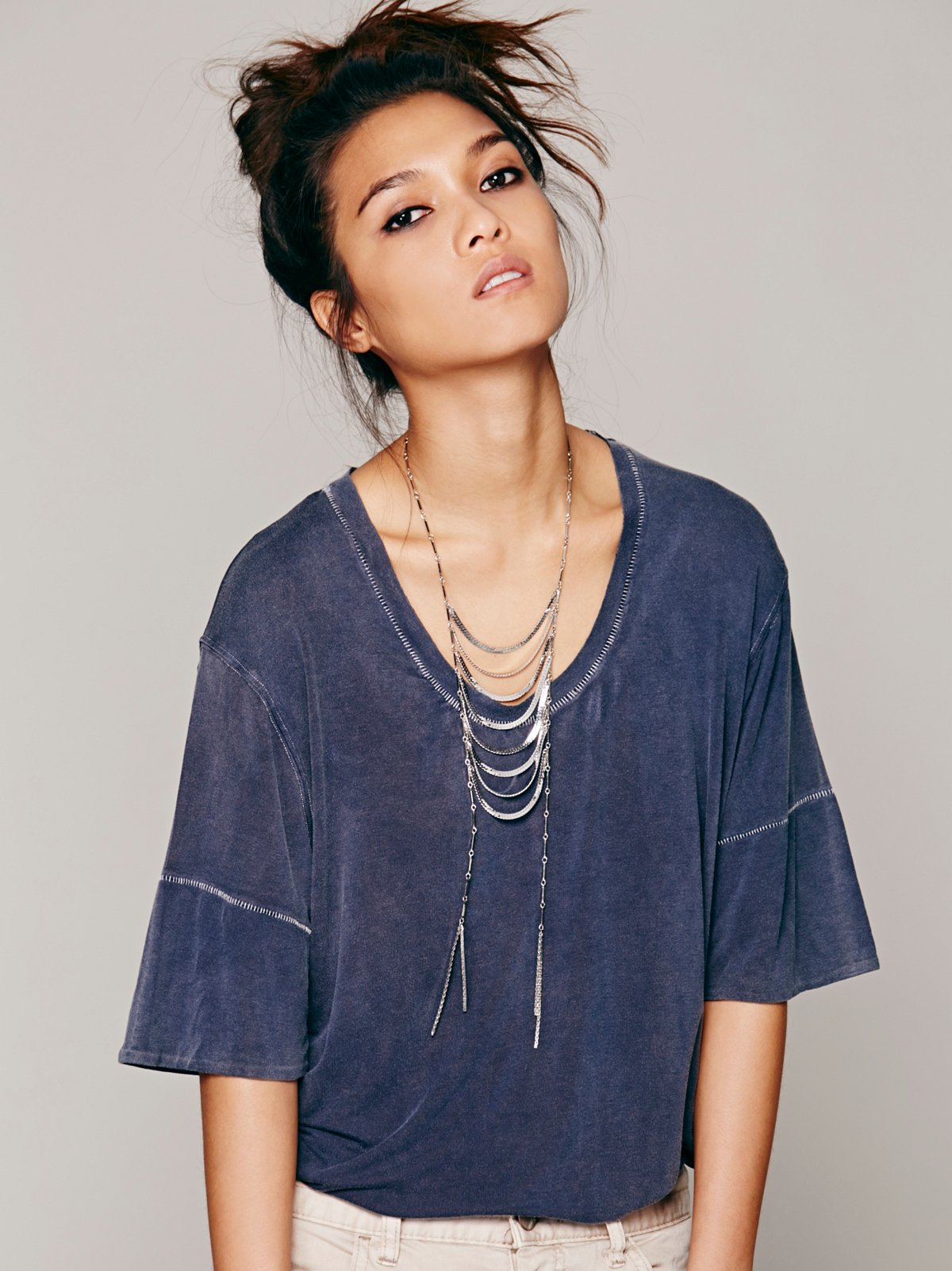 Cascade Layering Necklace