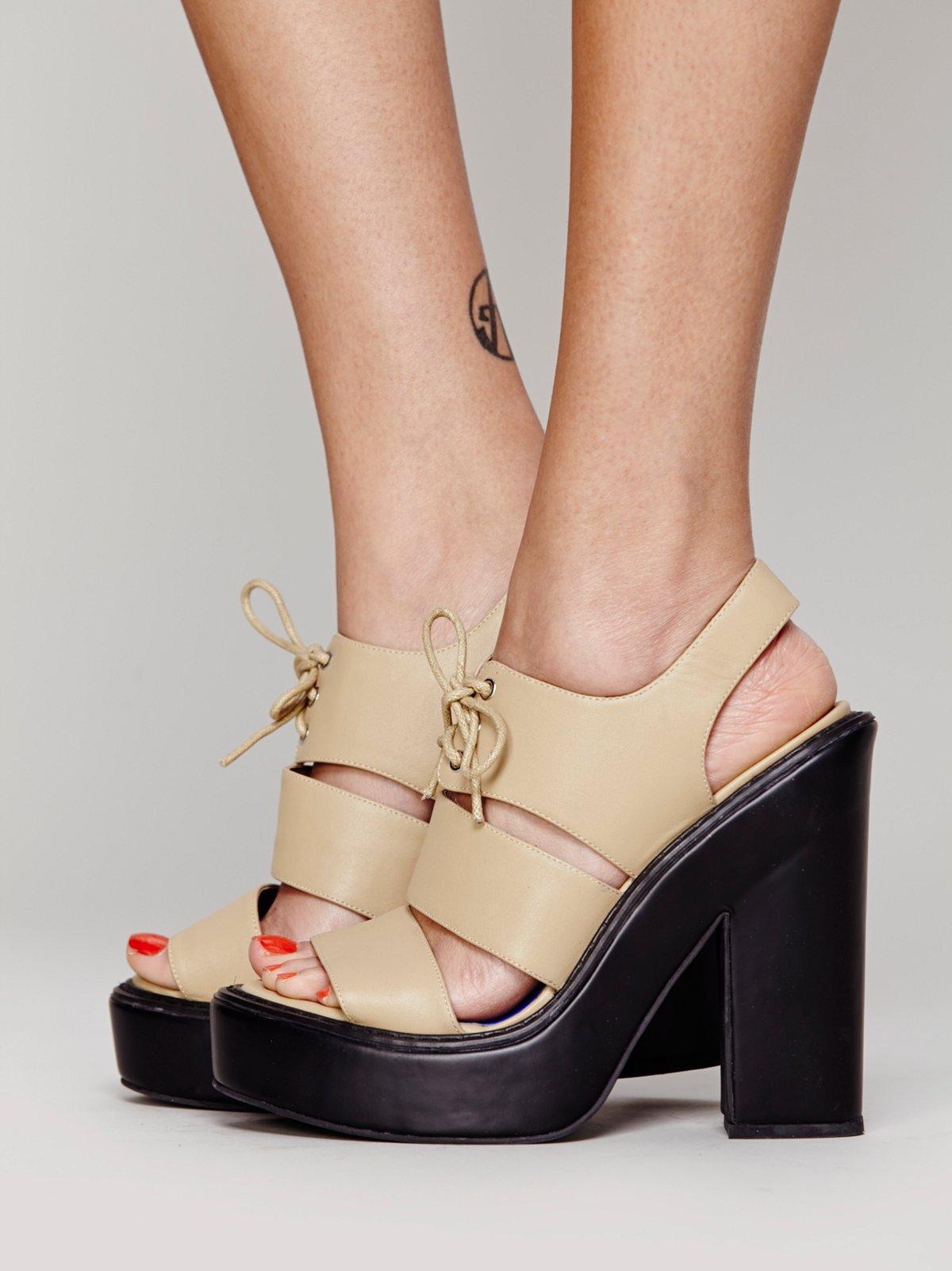 Mitchell Platform Heel