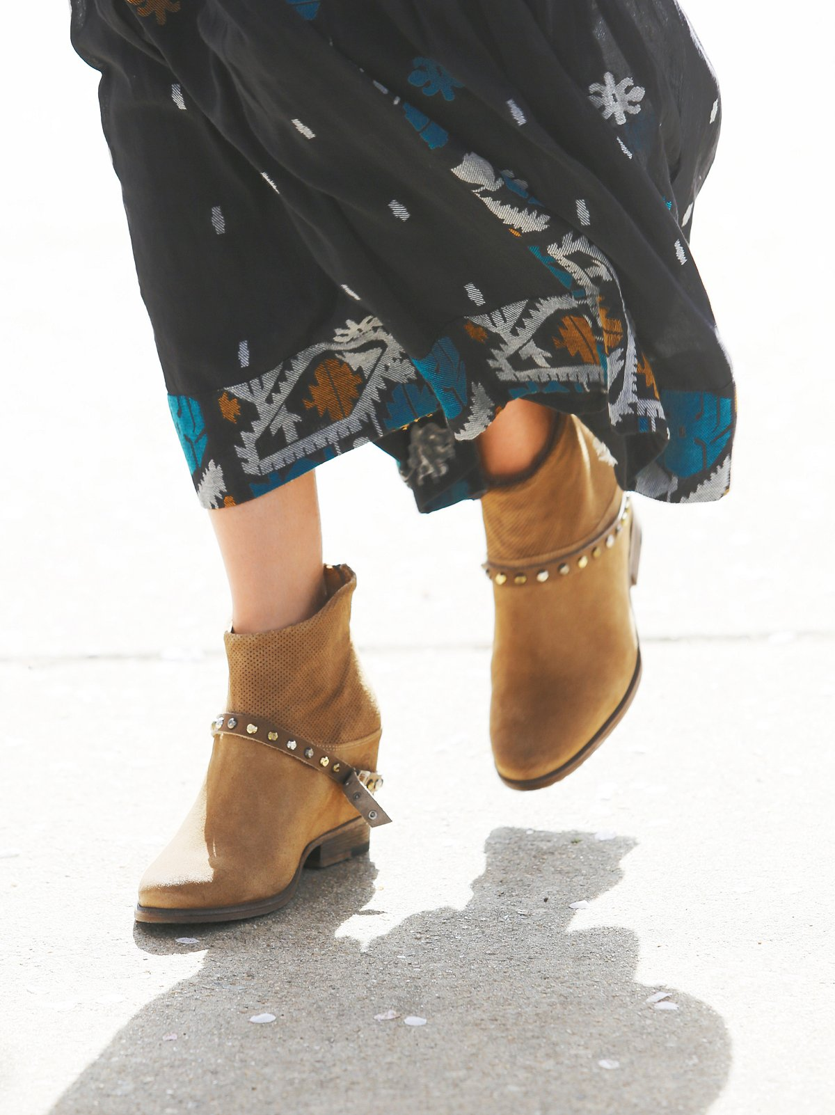 Golden Twilight Ankle Boot