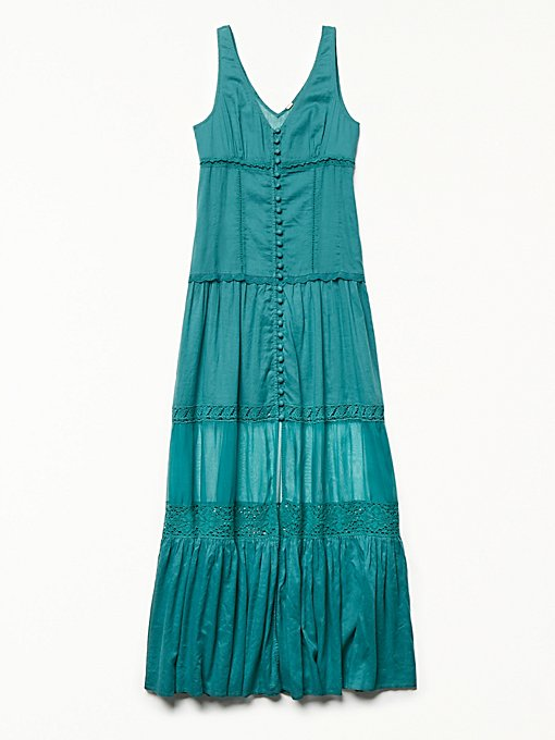 Product Image: Victoria前扣式超长裙