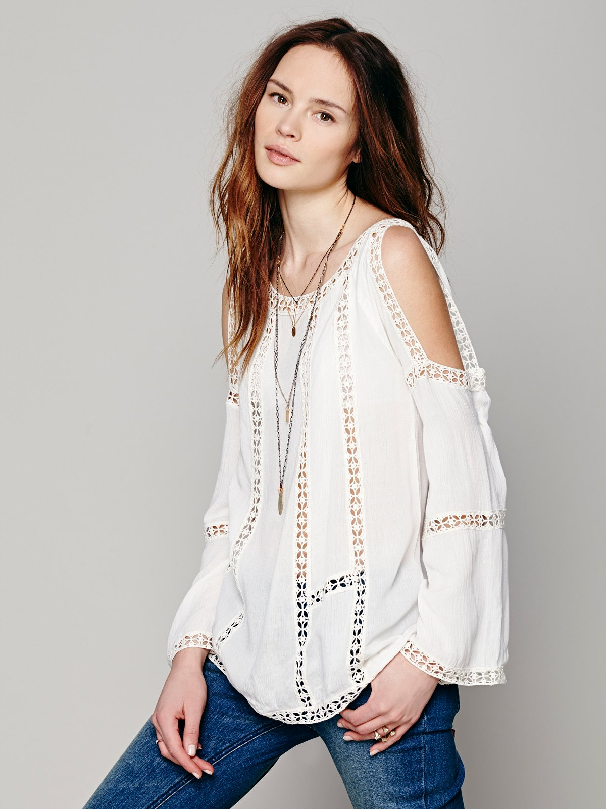 FP ONE Open Shoulder Top