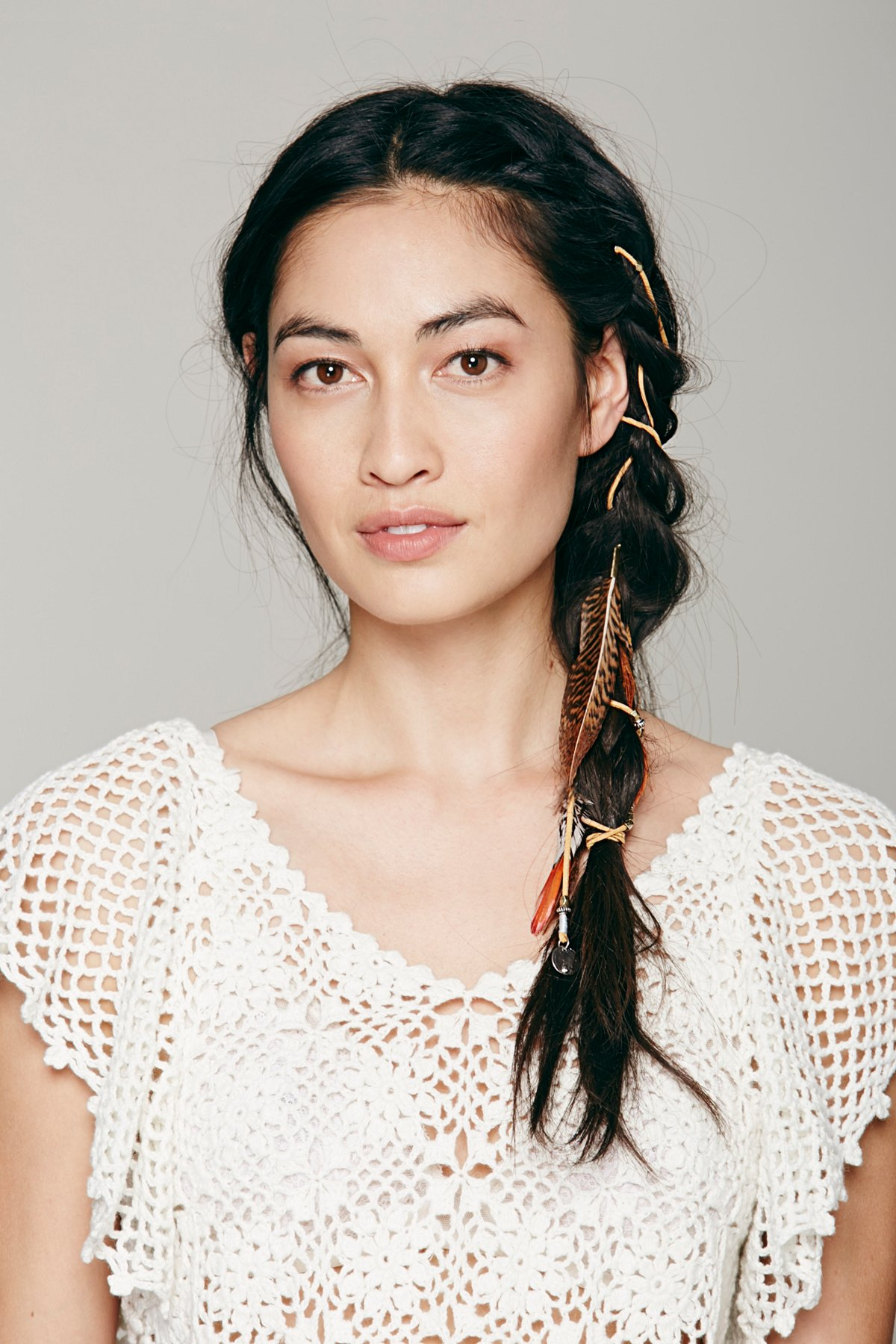 Eclectic Suede Braid In