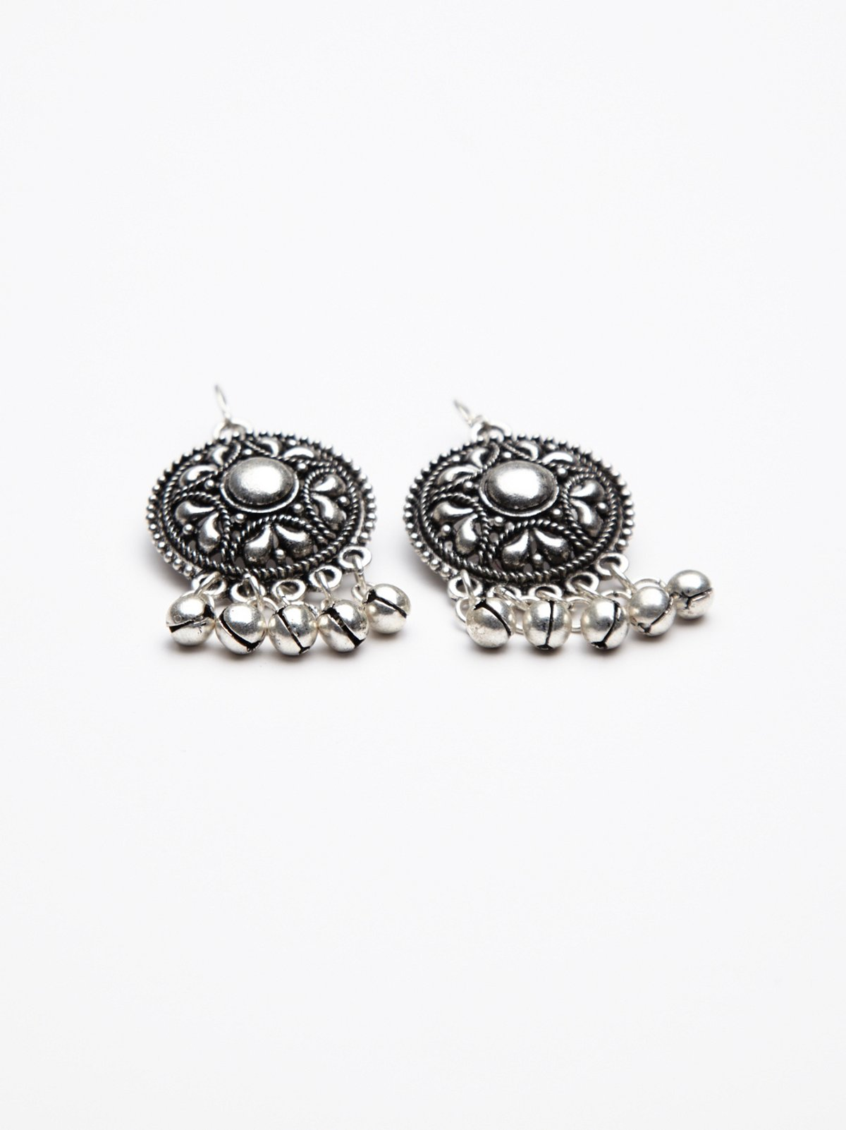 Drip Disc Statement Earring
