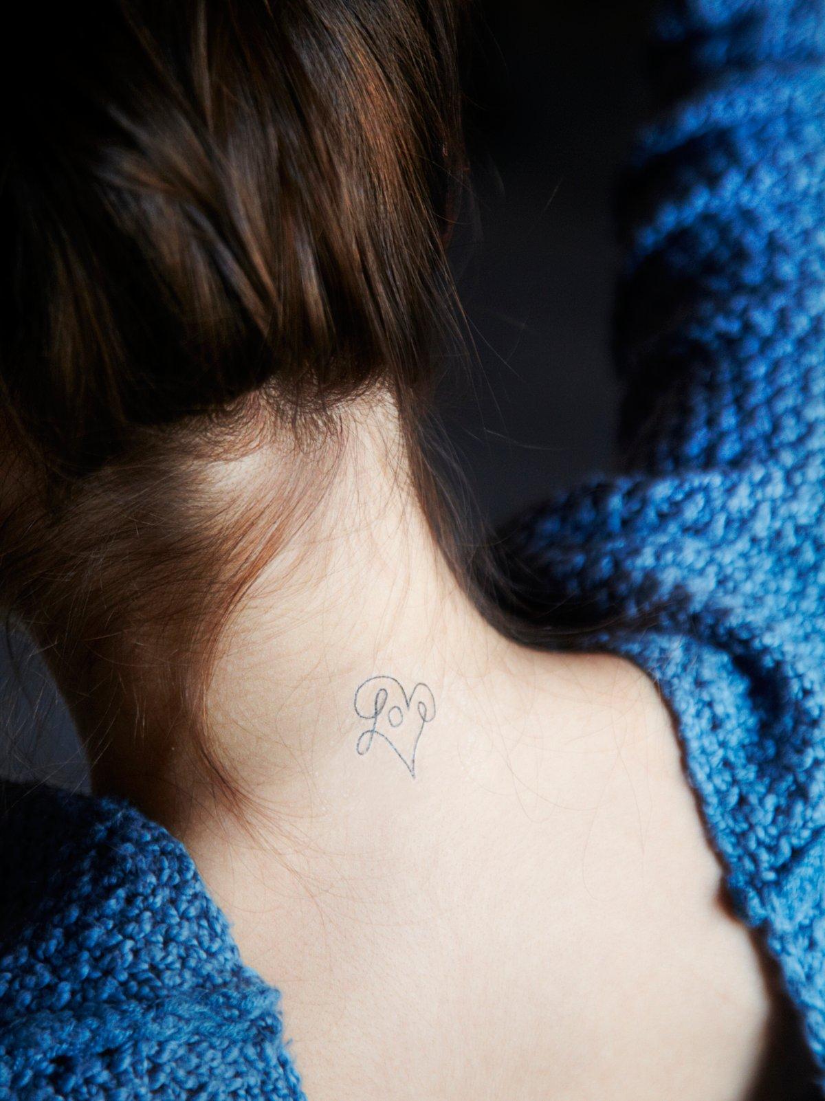符号谚语纹身