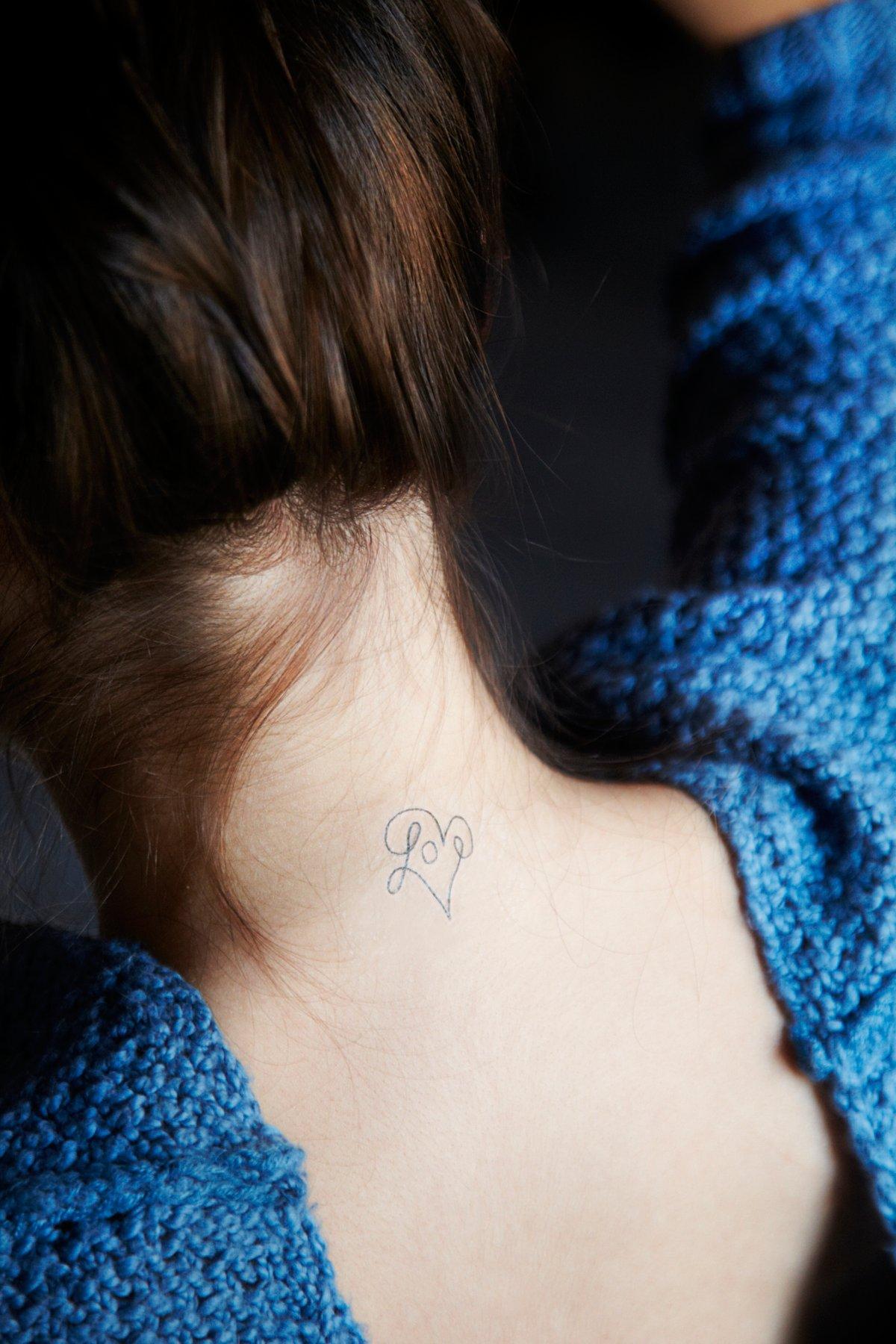 Symbols and Sayings Tattoo