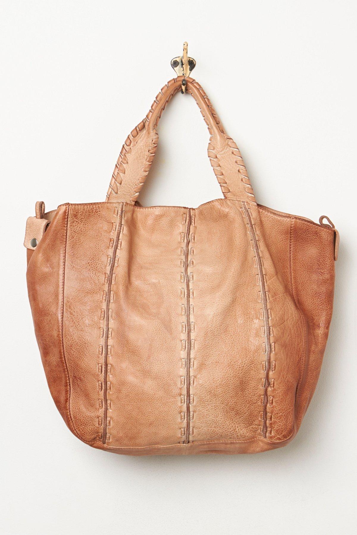 Wave Leather Bag