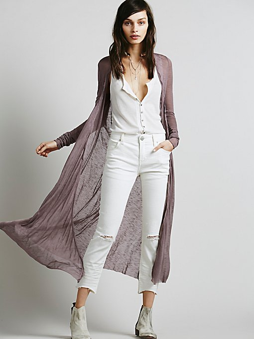 Product Image: Long Lean Cardigan