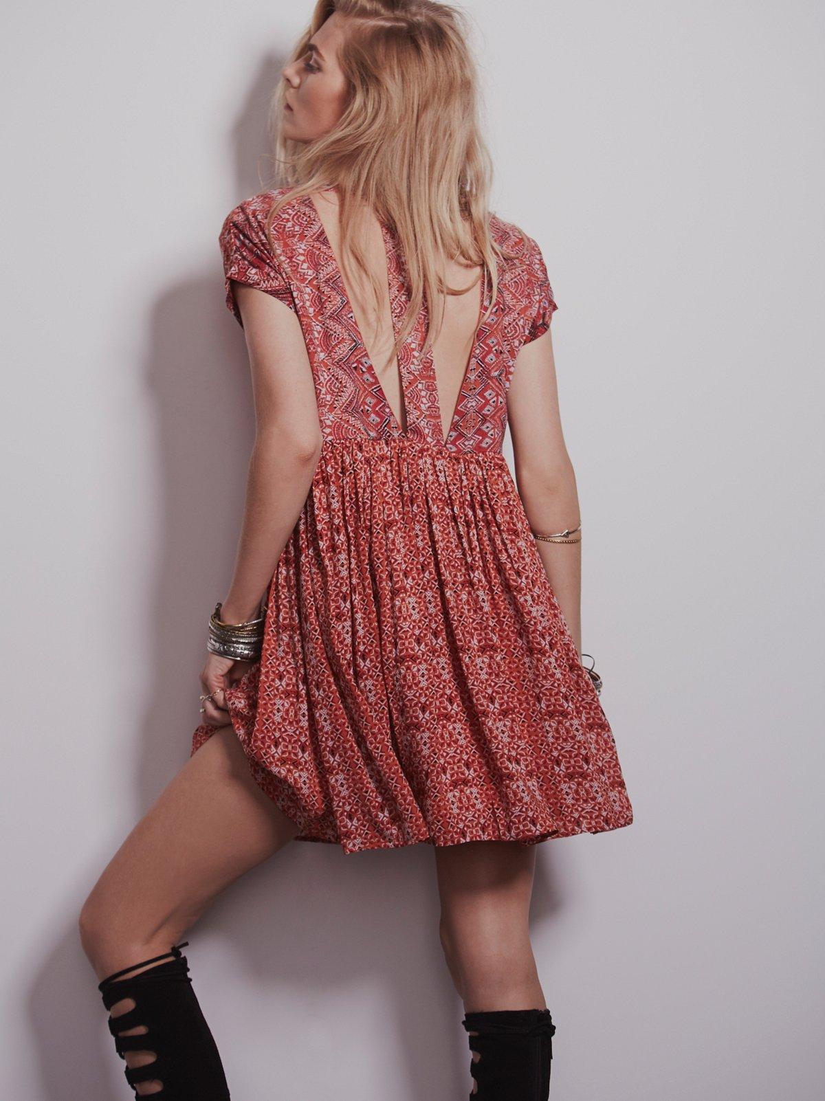 Sundown Babydoll Dress