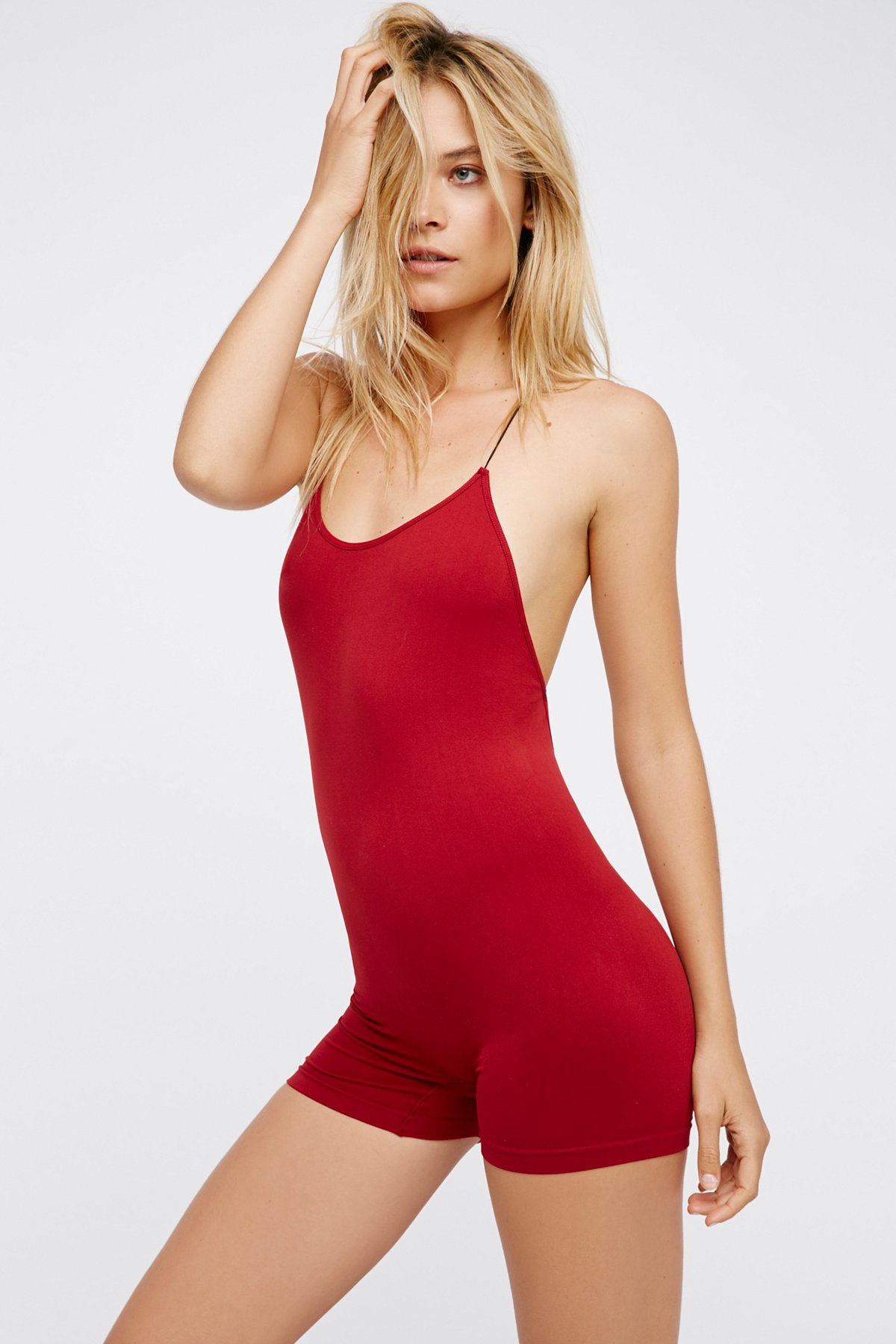 Low Back Seamless Playsuit