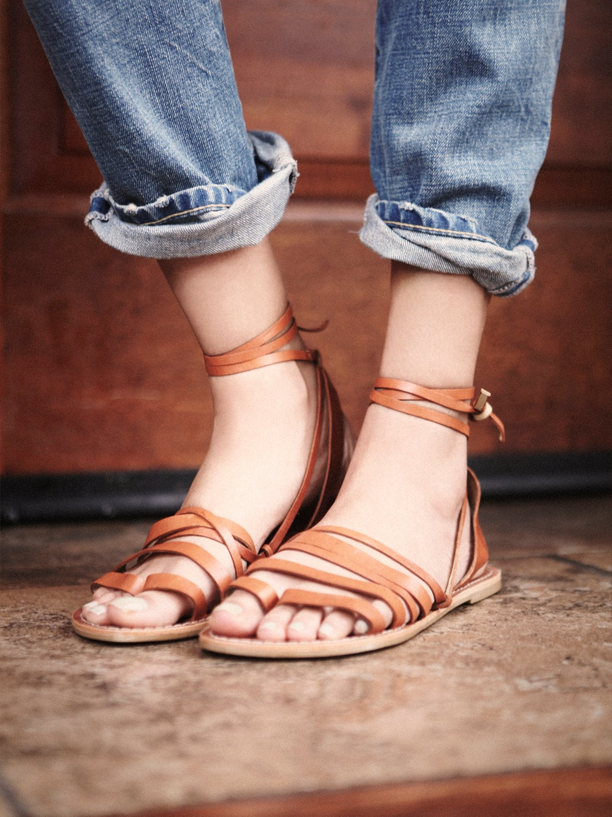 Harpoon Wrap Sandal