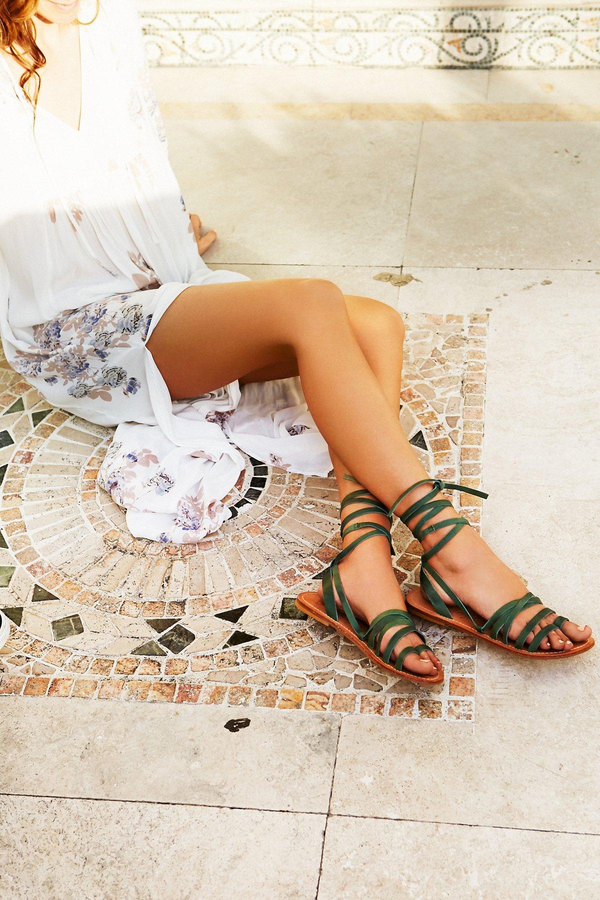 Harpoon Wrap Sandal