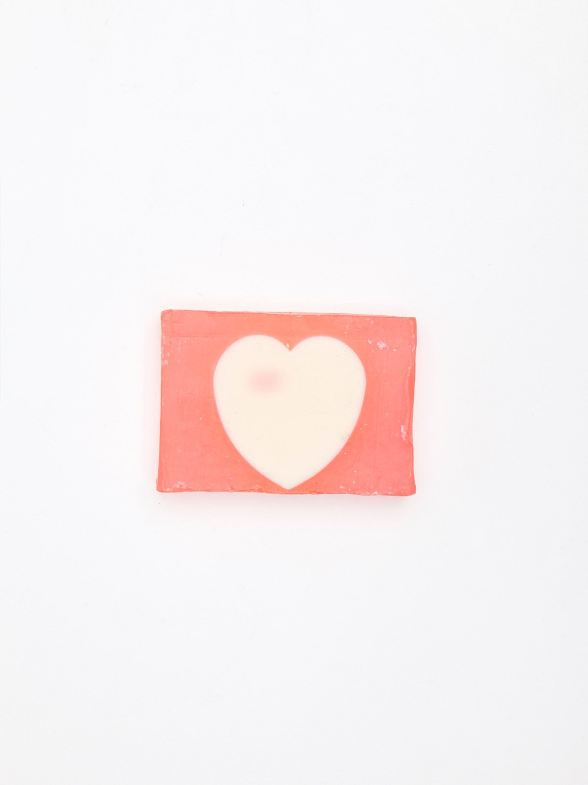 Pink Heart Soap
