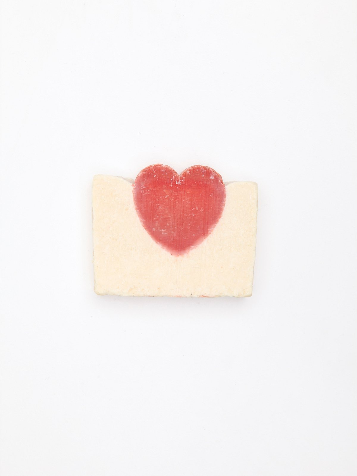 White Heart Soap
