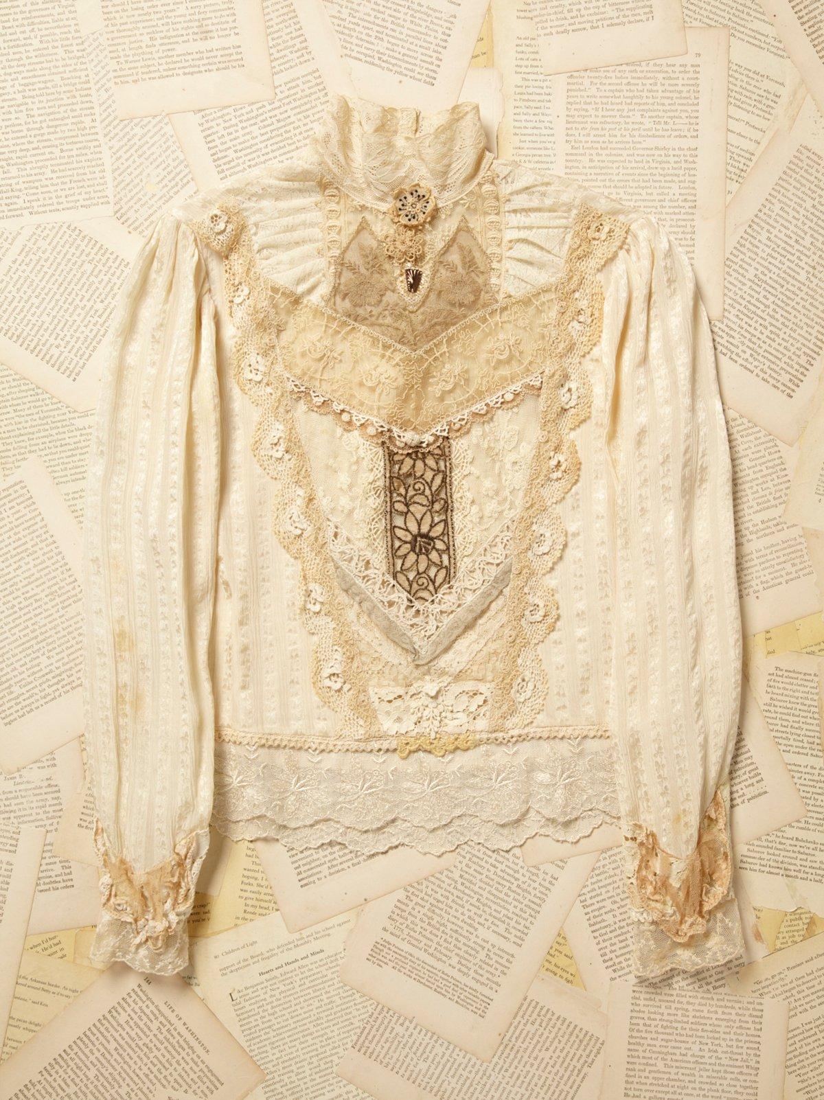 Vintage 1960s Lace Blouse