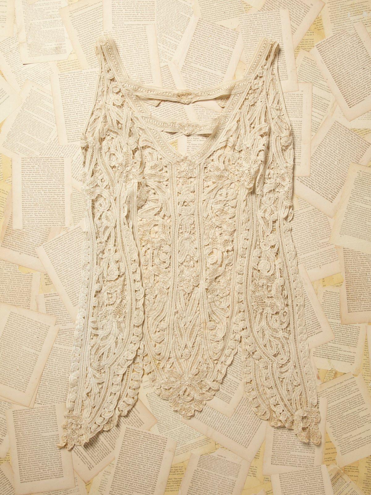 Vintage Victorian Battenburg Lace