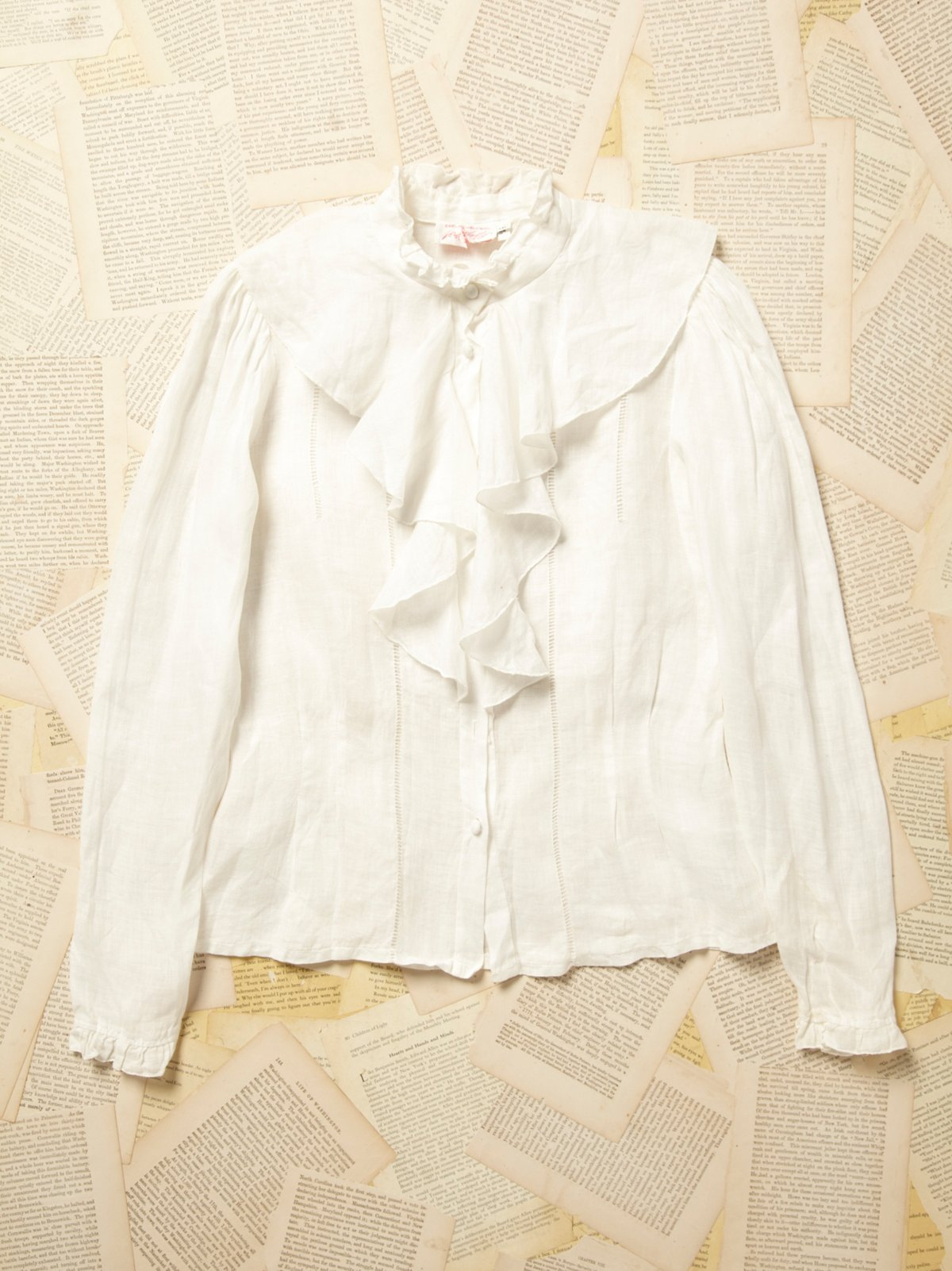 Vintage 1970s Buttondown Blouse