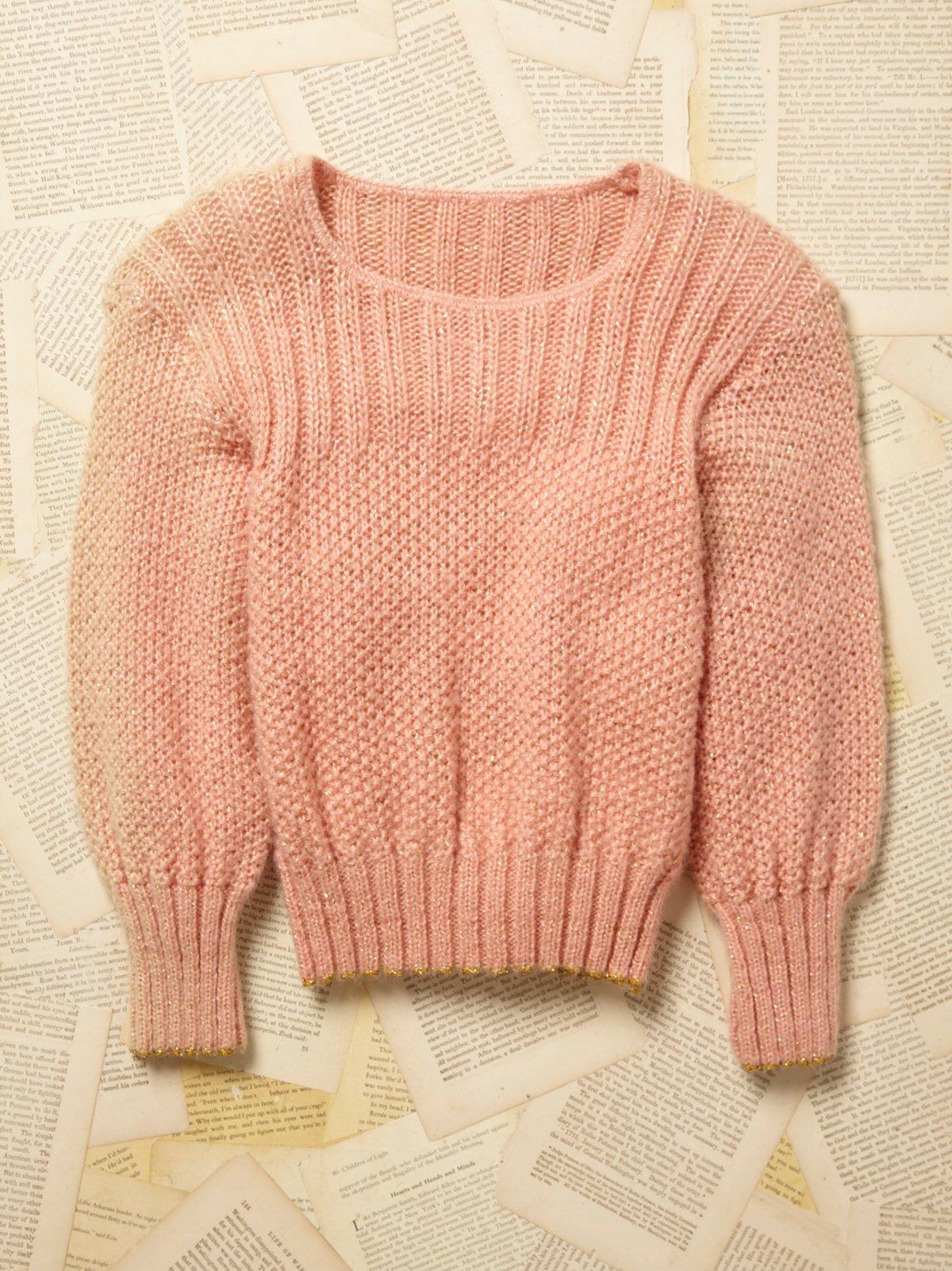 Vintage 1970s Lurex Sweater