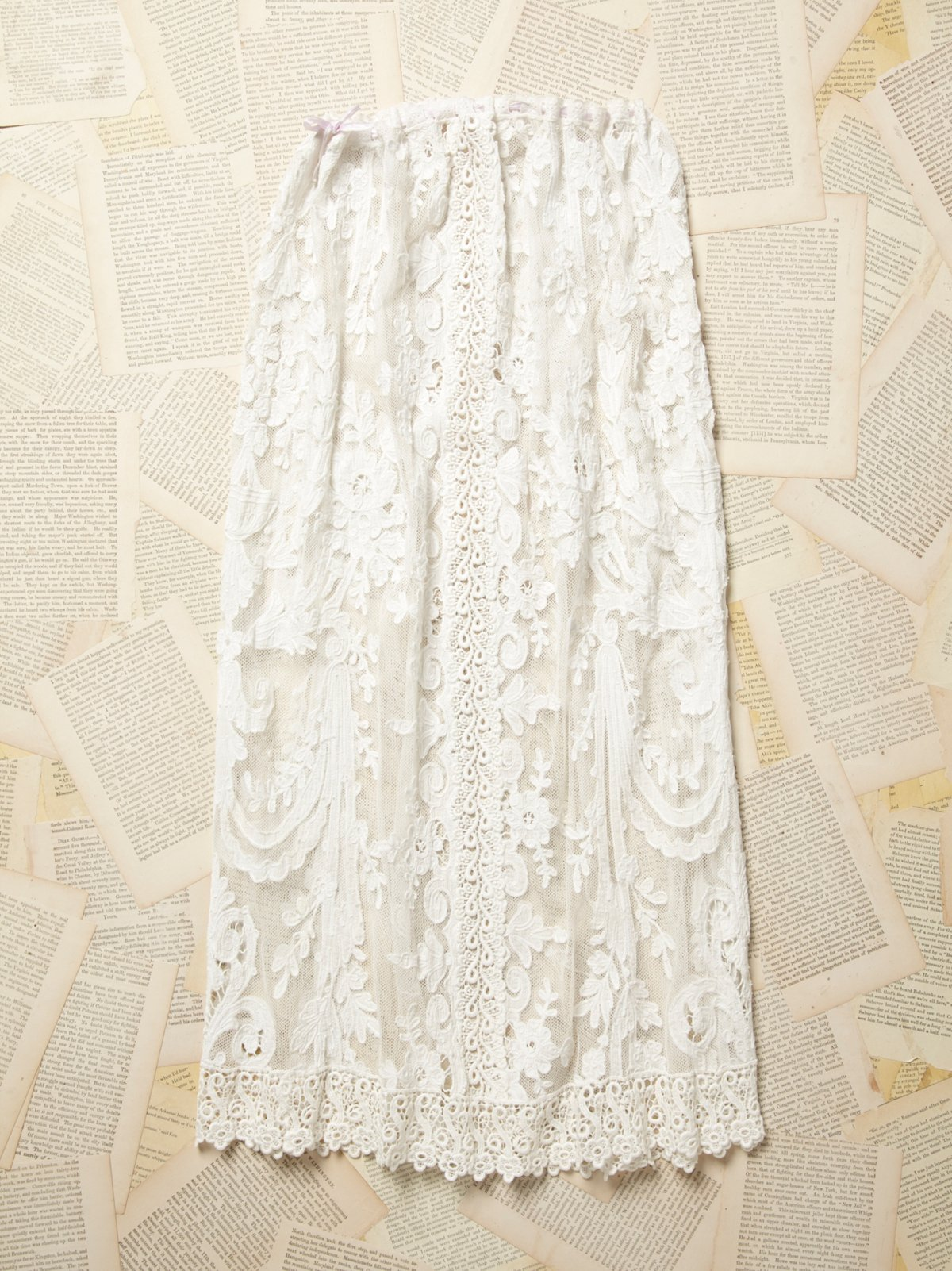 Vintage Victorian Lace Skirt